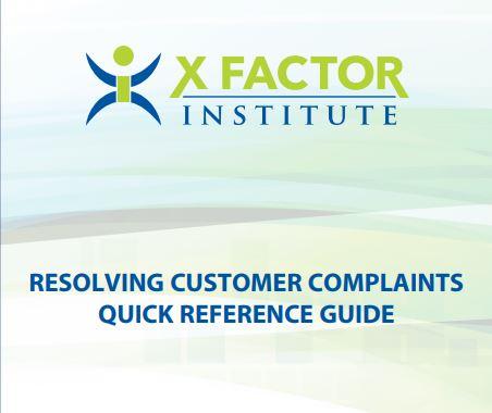 "Download ""REsolving Customer Complaints""  HERE"