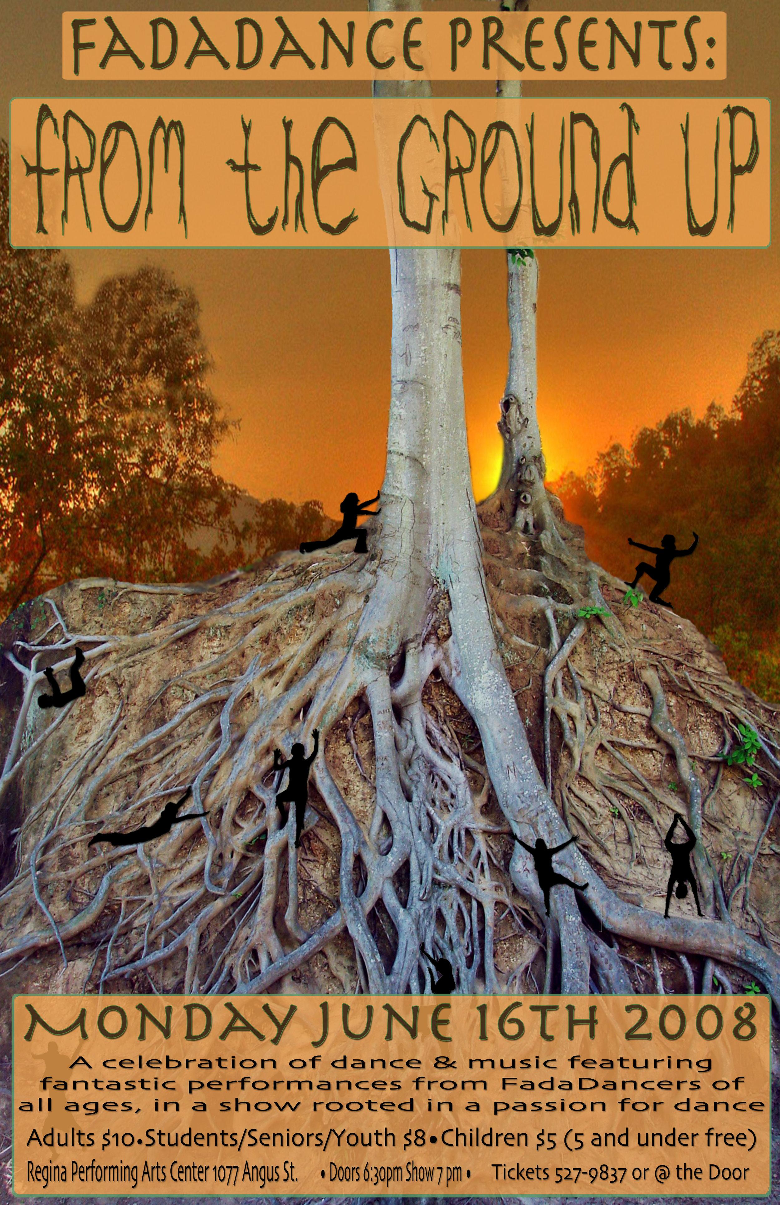 From The Ground Up from the ground up — fadadance studio