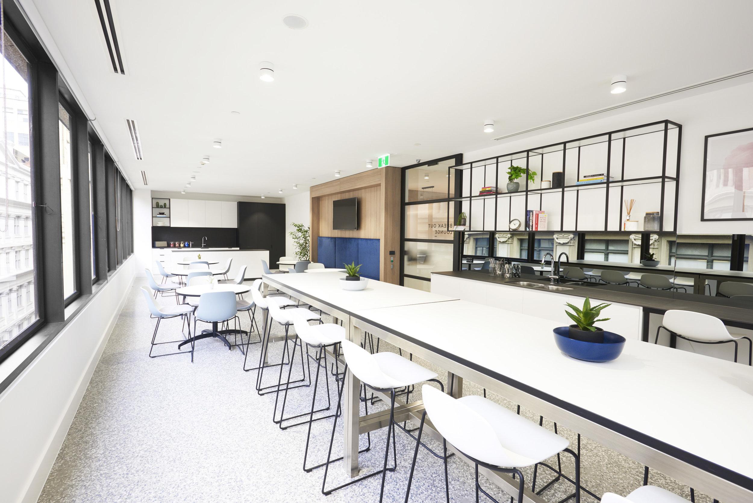 Melbourne CBD - Breakout Area