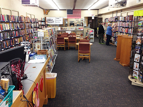 About Your library - Thousands of titles, computer workstations, Timberland Library Kiosk, comfy chairs, helpful staff.