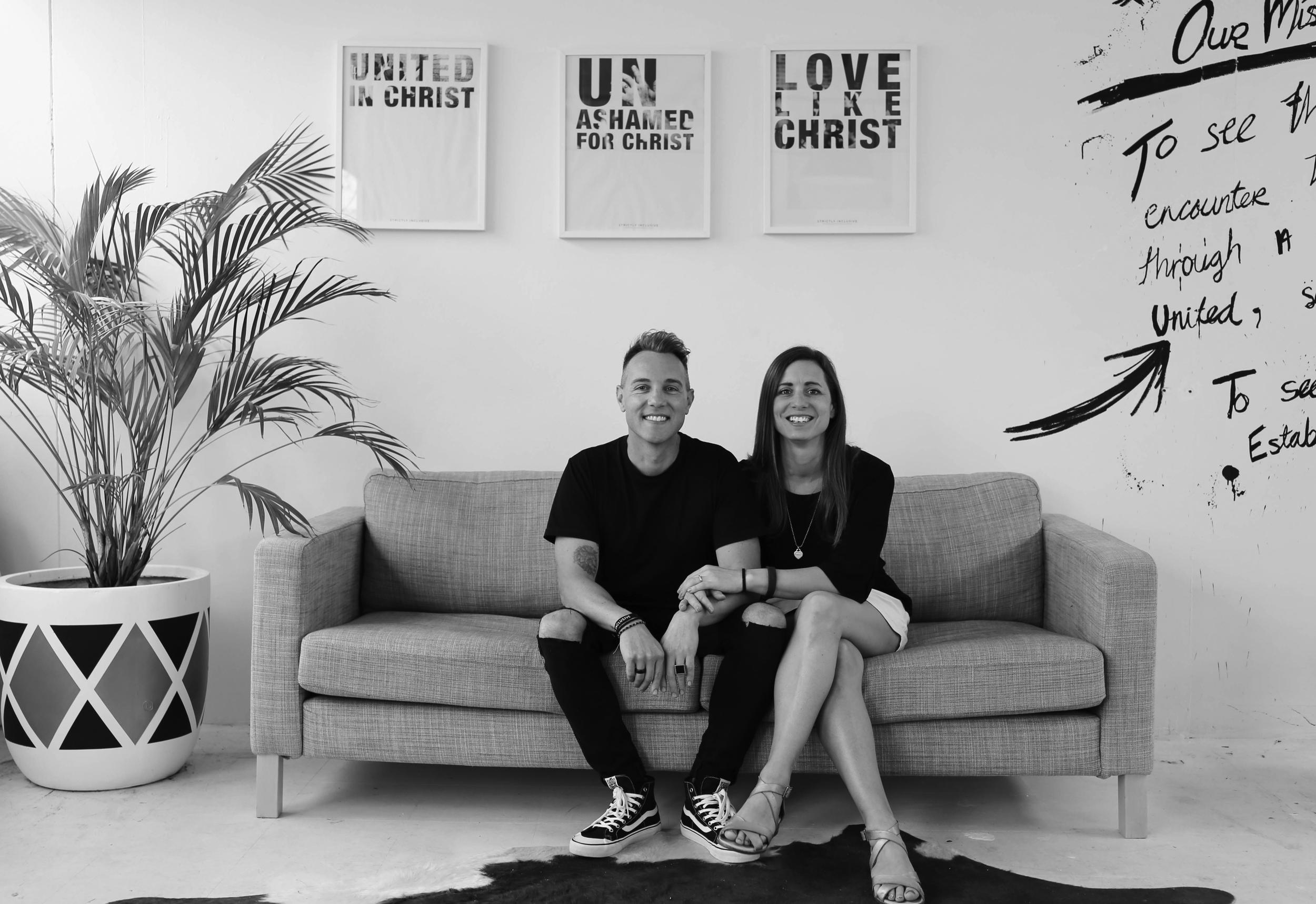 - Lead Pastors   James & Alanna Murray