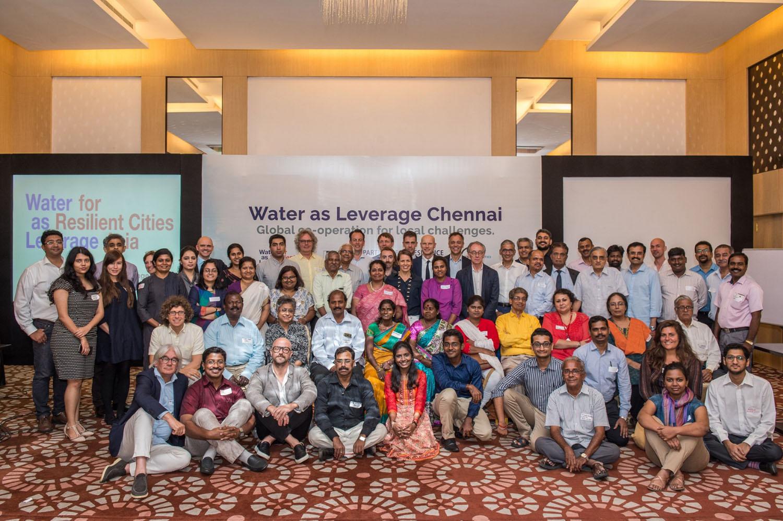 Delegates at the first local workshop in Chennai ©CynthiavanElk/WaterasLeverage