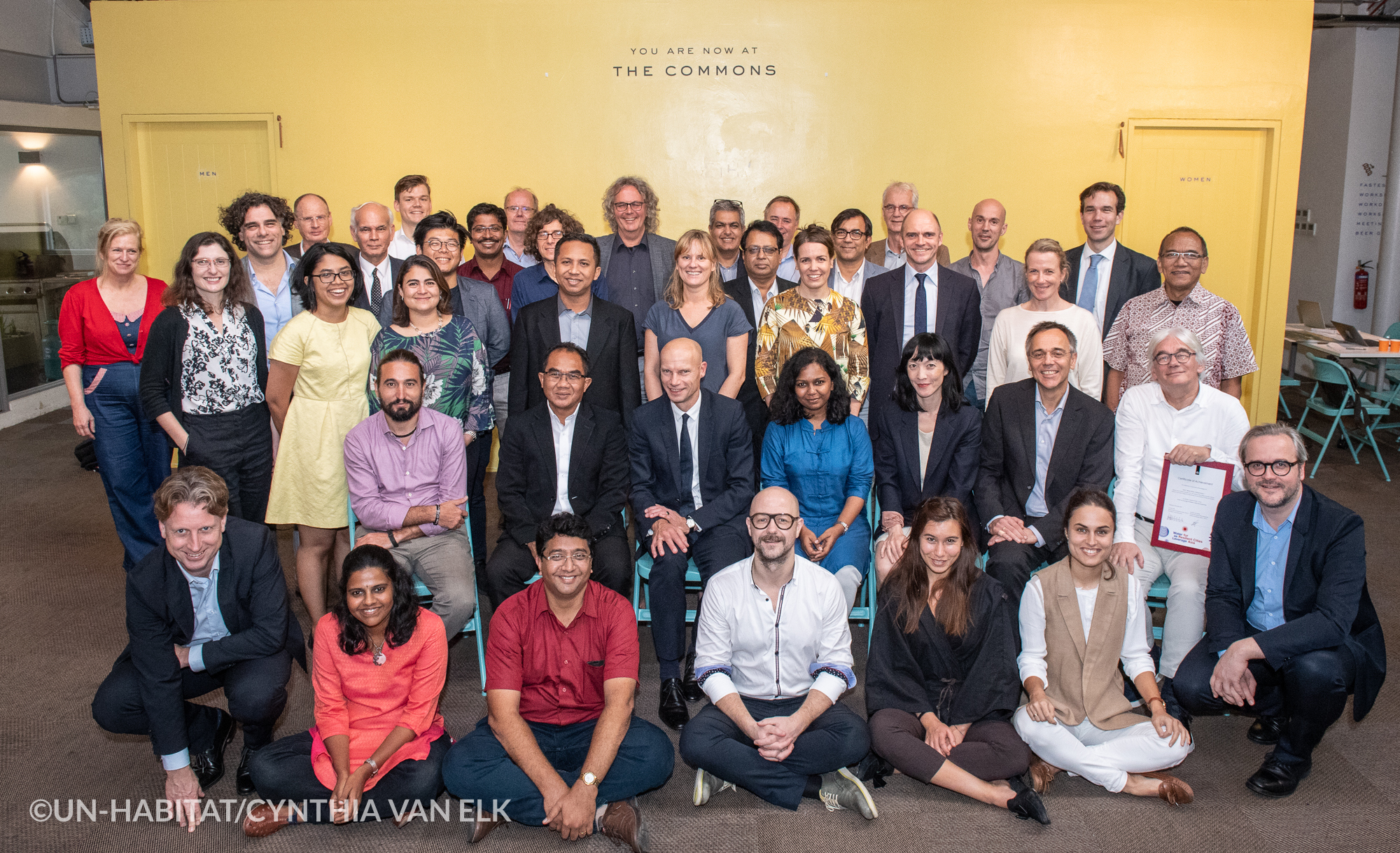Delegates at the first regional workshop in Singapore ©CynthiavanElk/WaterasLeverage