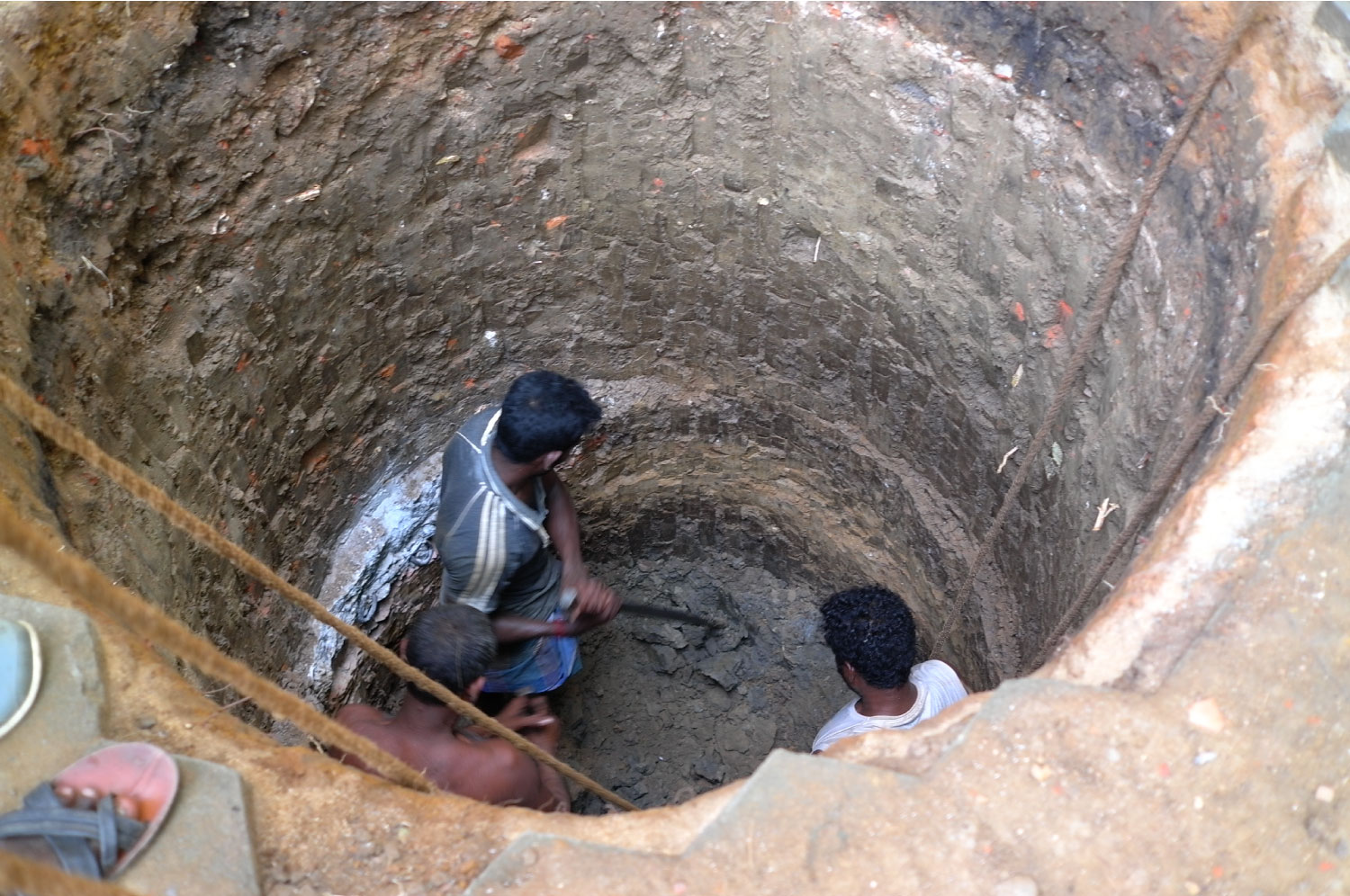 Recharge Well in Mylapore, Chennai  ©Ooze