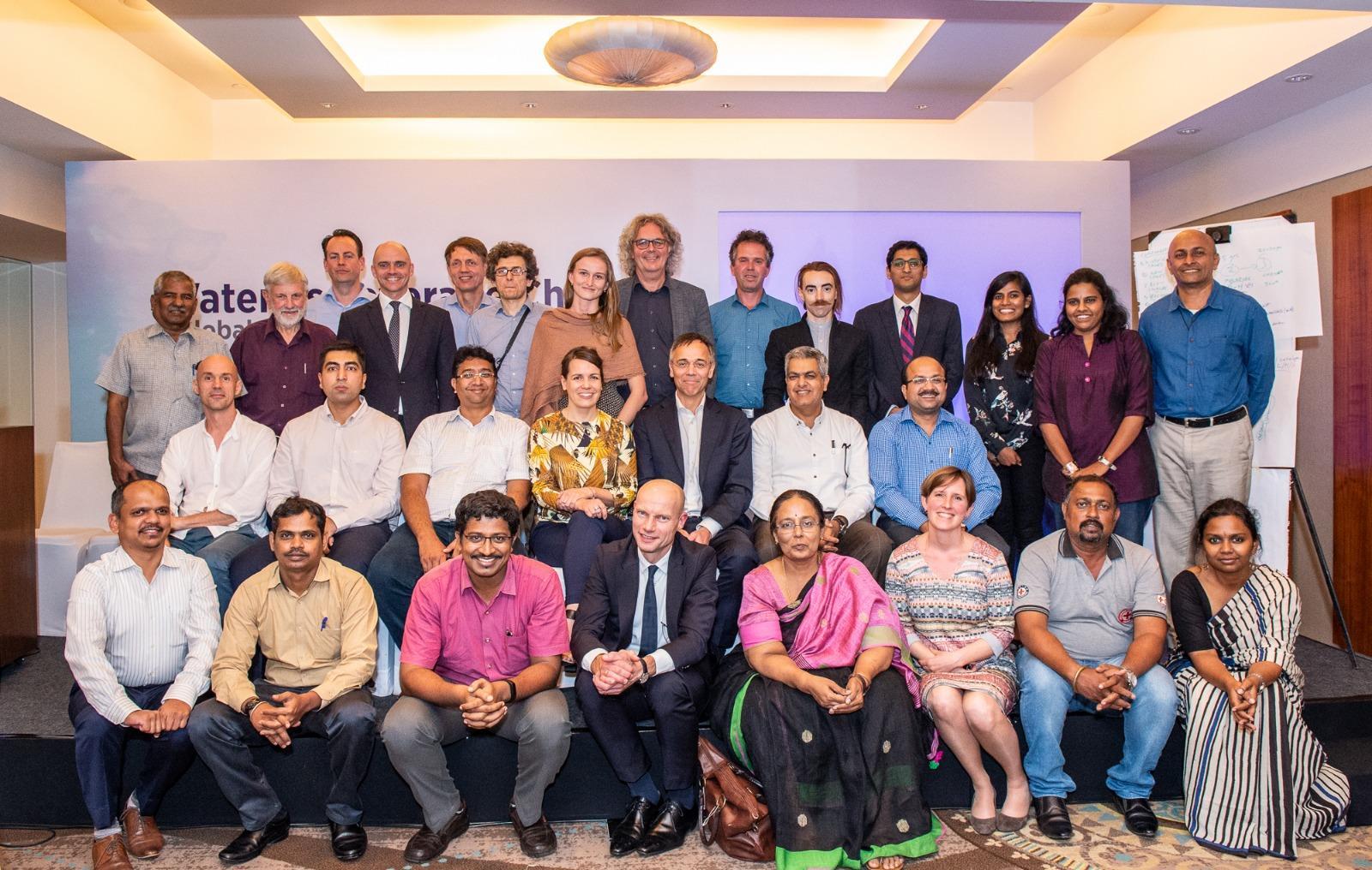 Delegates at the third local workshop in Chennai ©CynthiavanElk/WaterasLeverage