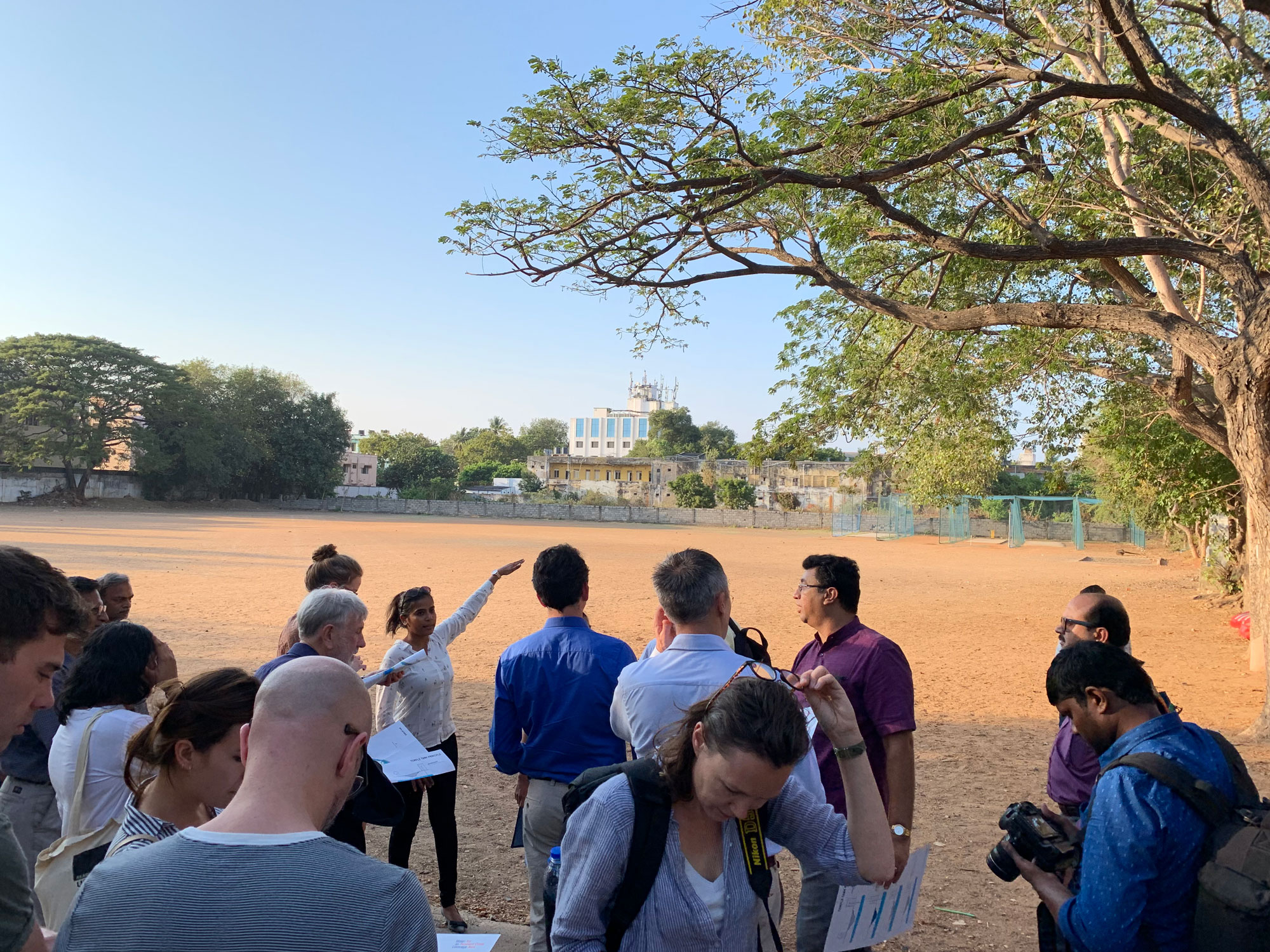 Participants at the P.S. Senior Secondary School, Mylapore ©Ooze