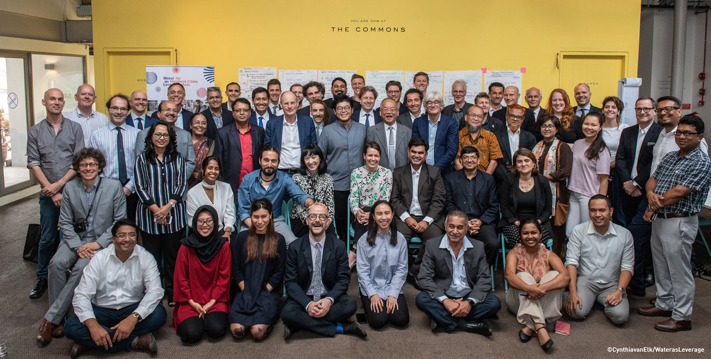 Delegates at the second regional workshop in Singapore ©CynthiavanElk/WaterasLeverage