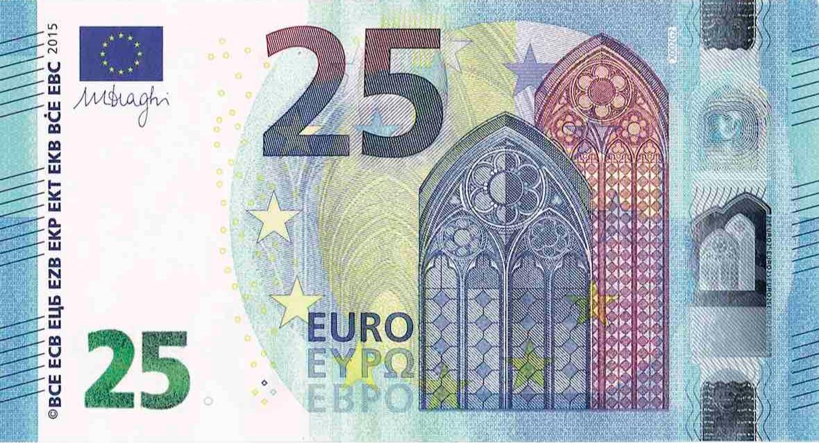 vijf en twintig euro - 2018