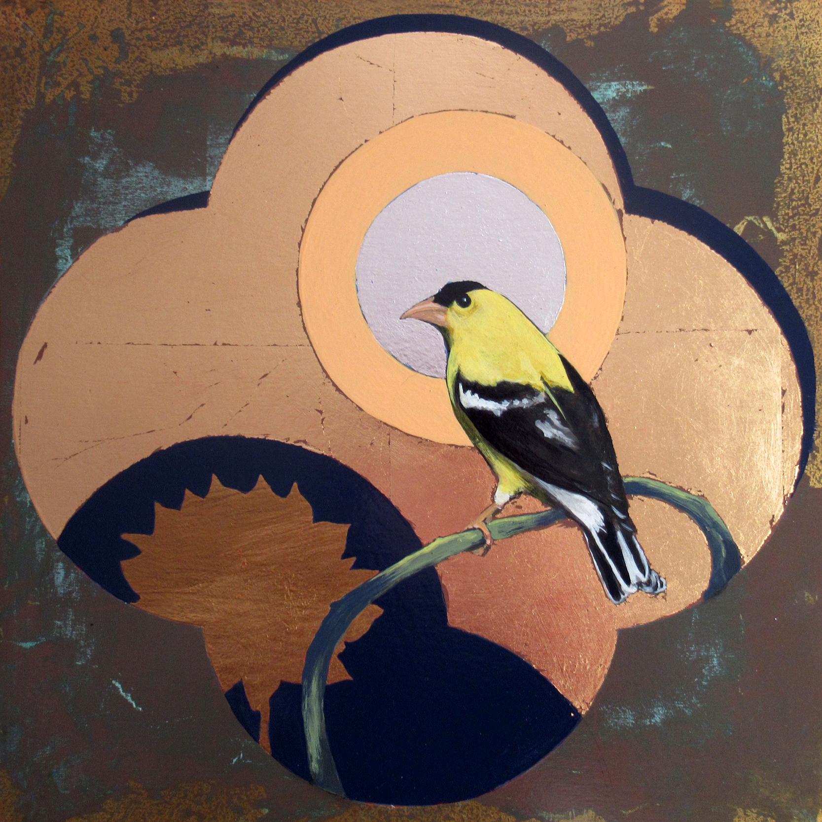 Window - Yellow Finch