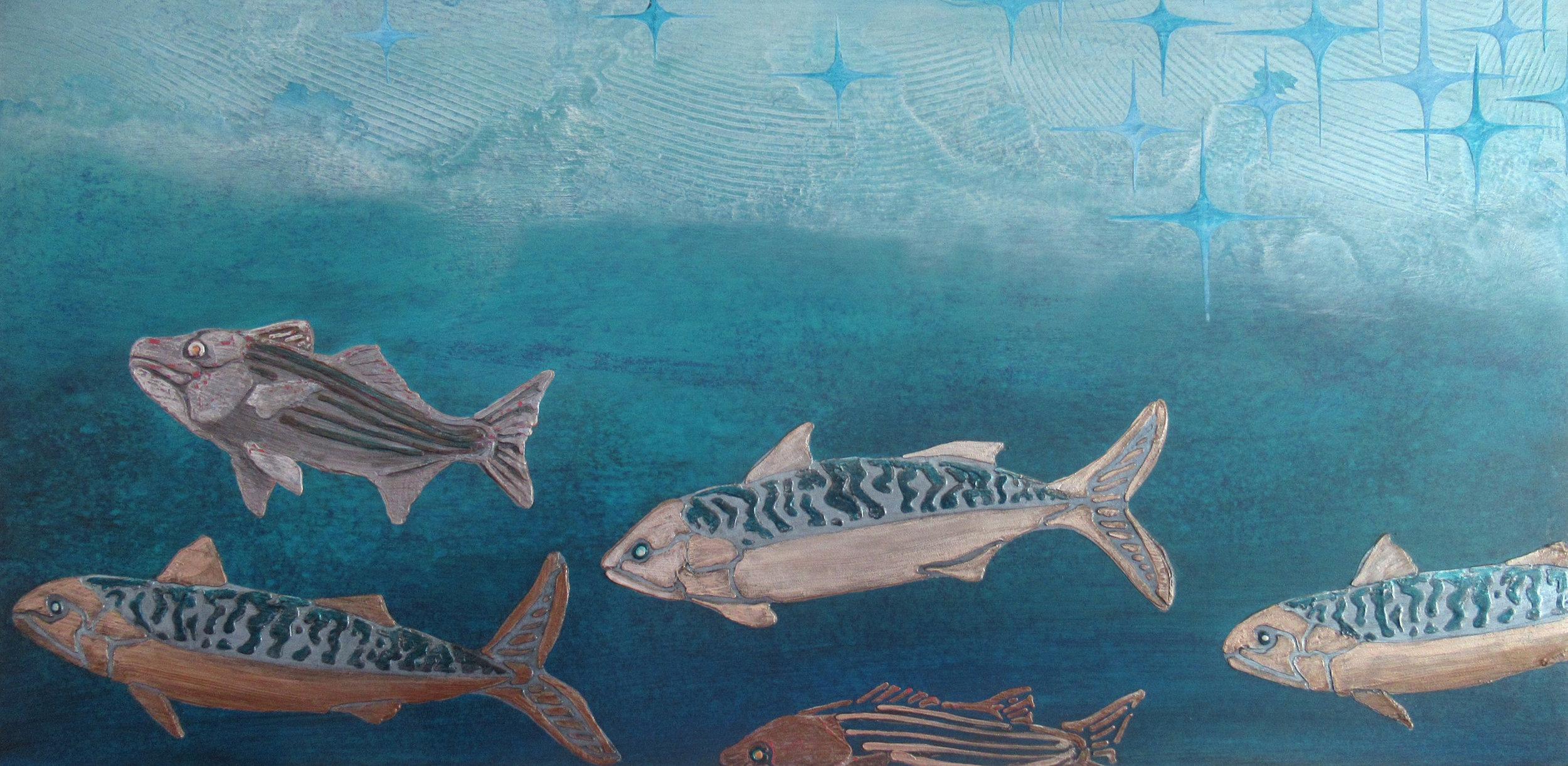 Stripers and Mackerel - Shimmer • Penobscot