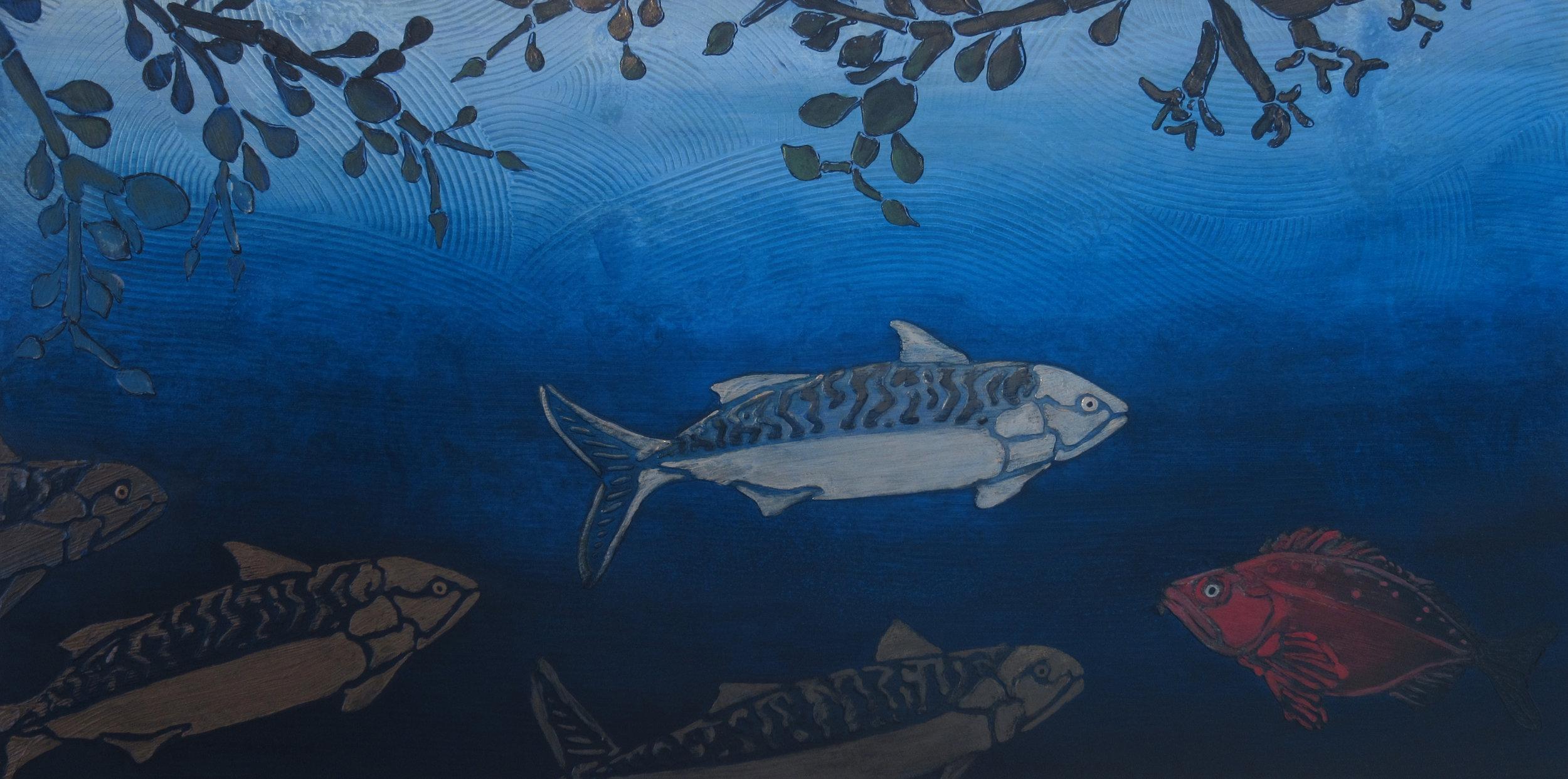 Mackerel and Redfish - Deep • Penobscot