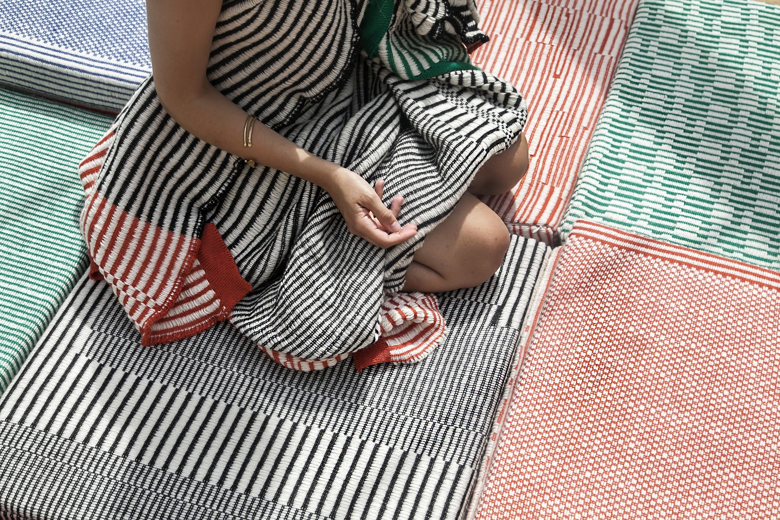 You can build a house with bricks but you build a home with textiles -