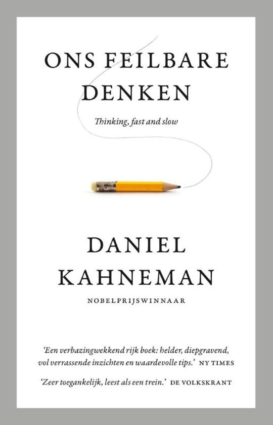 Daniel Kahneman, Cover