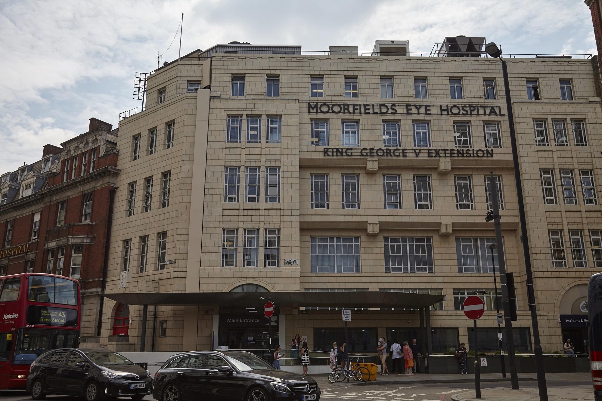 Moorfields Eye Hospital, City Road, London