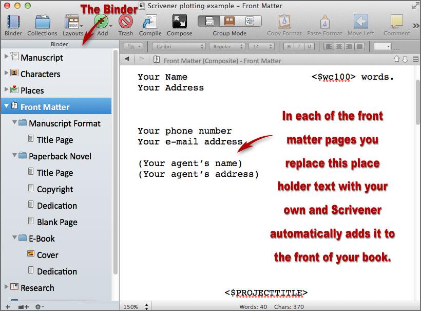 scrivener writing software 1