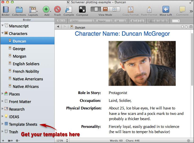 scrivener writing software 3