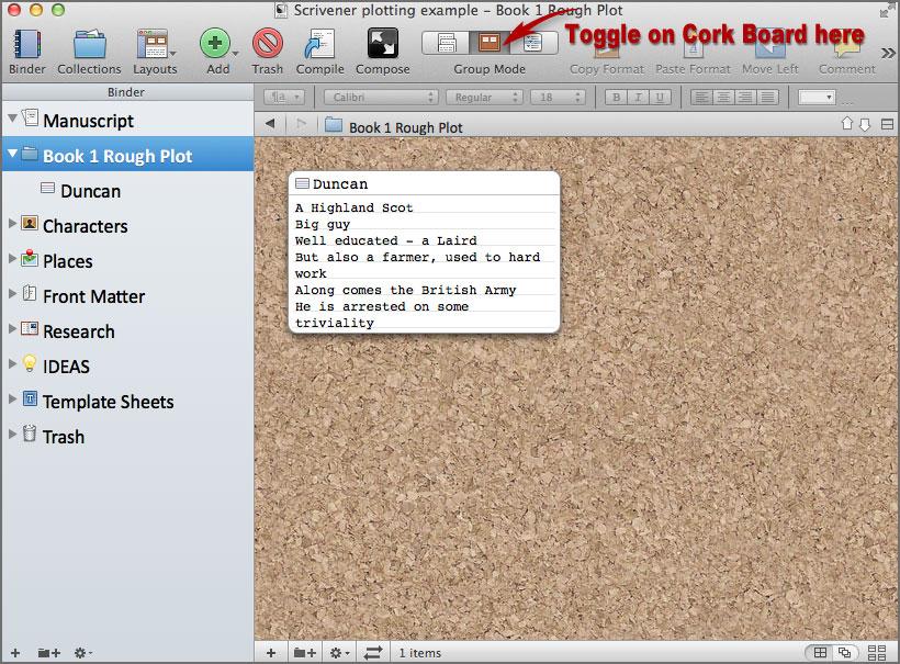 scrivener writing software 4