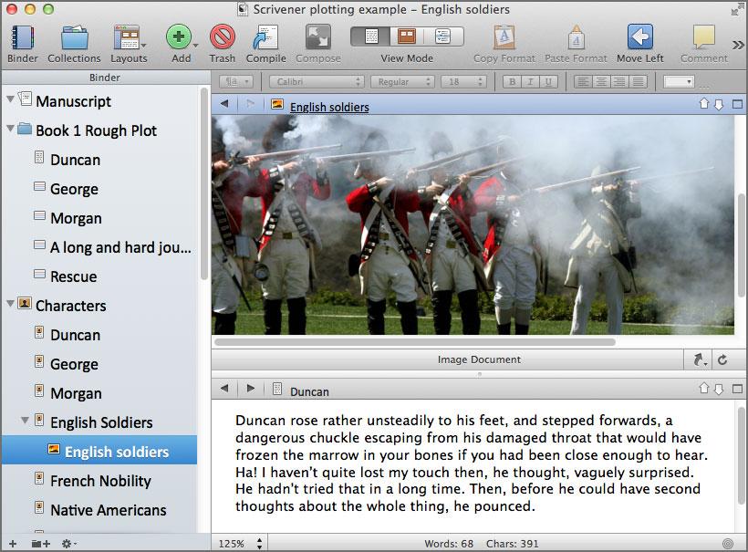 scrivener writing software 7