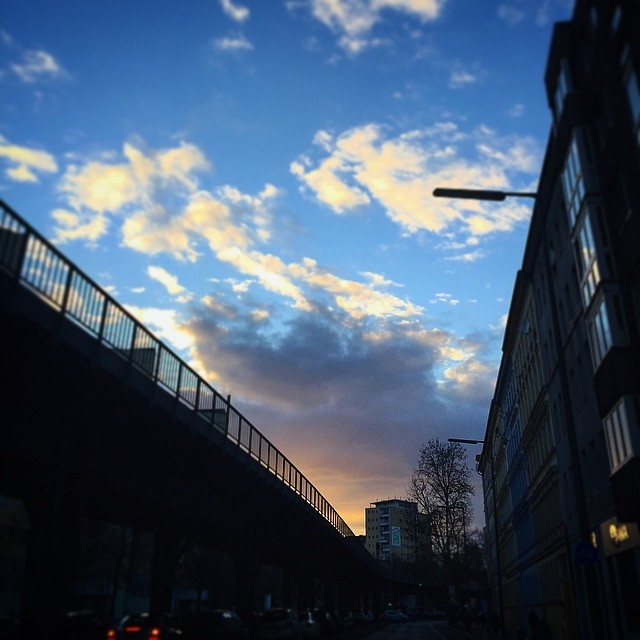 U-Bahn sunsetfade, Berlin Xberg