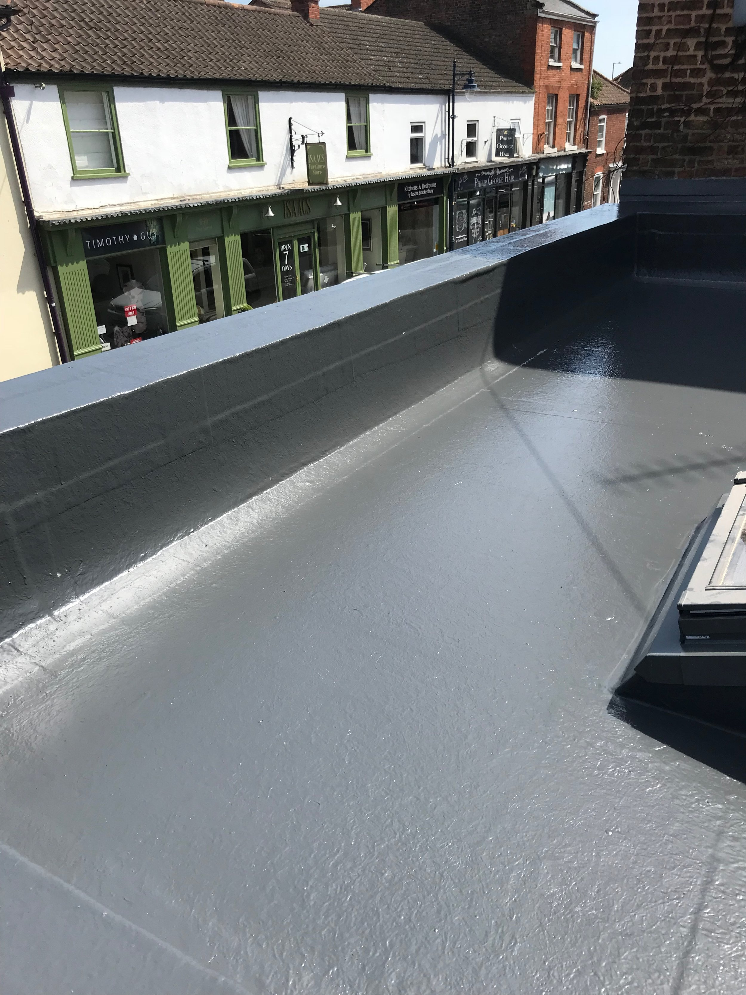 Fit and forget - Yet another happy customer, and another great roof. Guaranteed to perform for a life time.