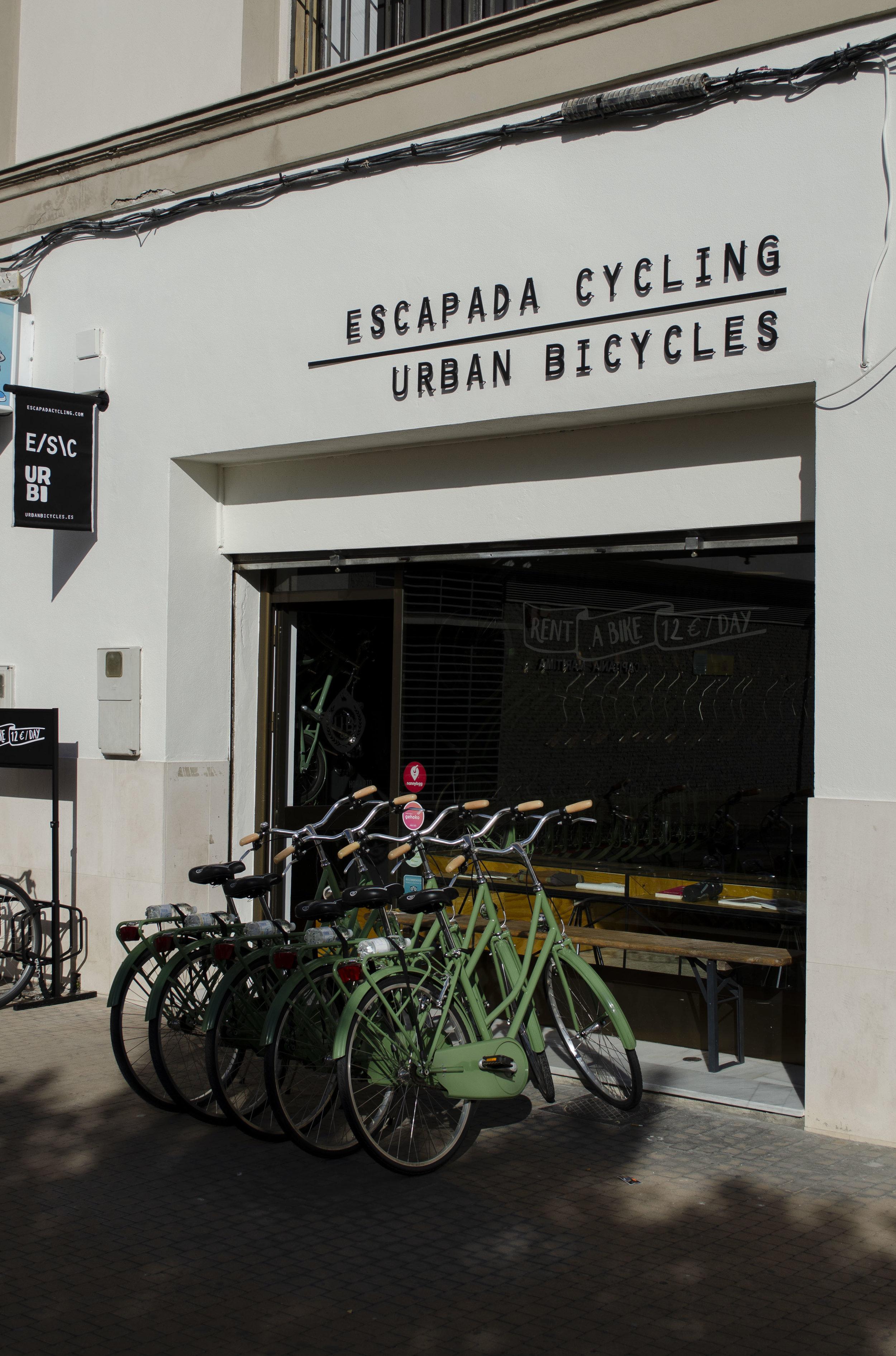 fietsverhhur in Malaga