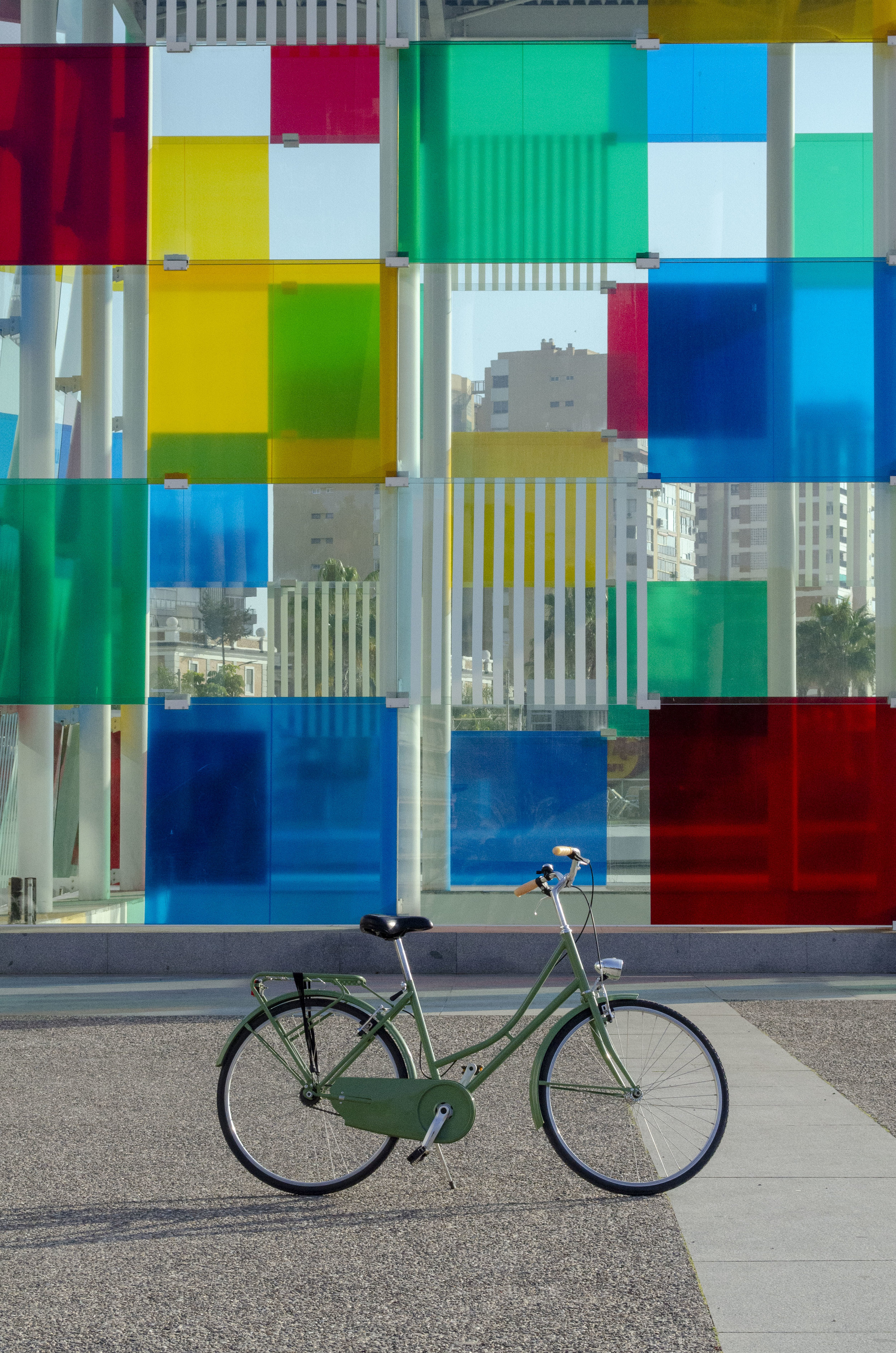 Pompidou Malaga fiets