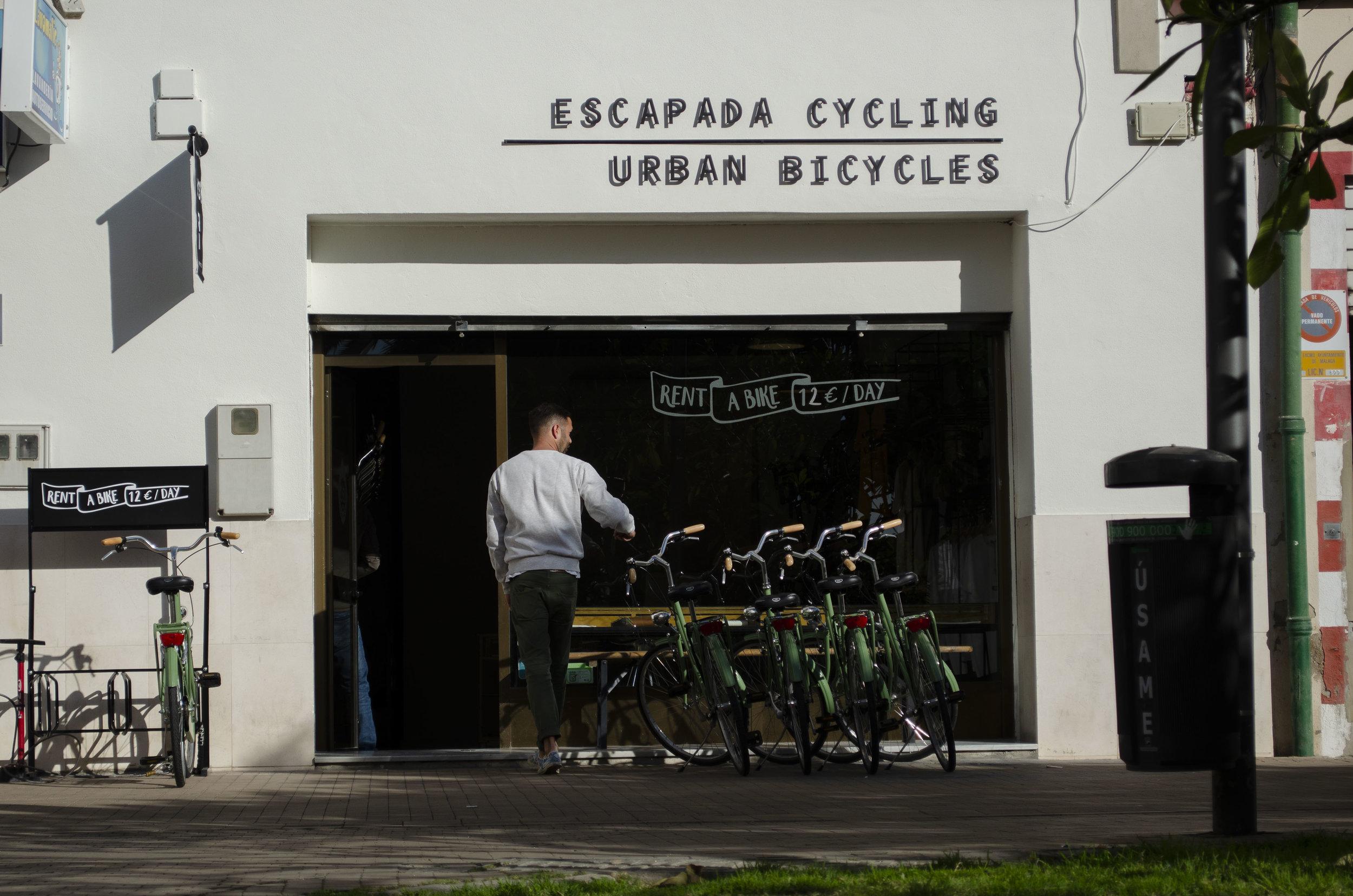 Malaga bike rental price Urban Bicycles