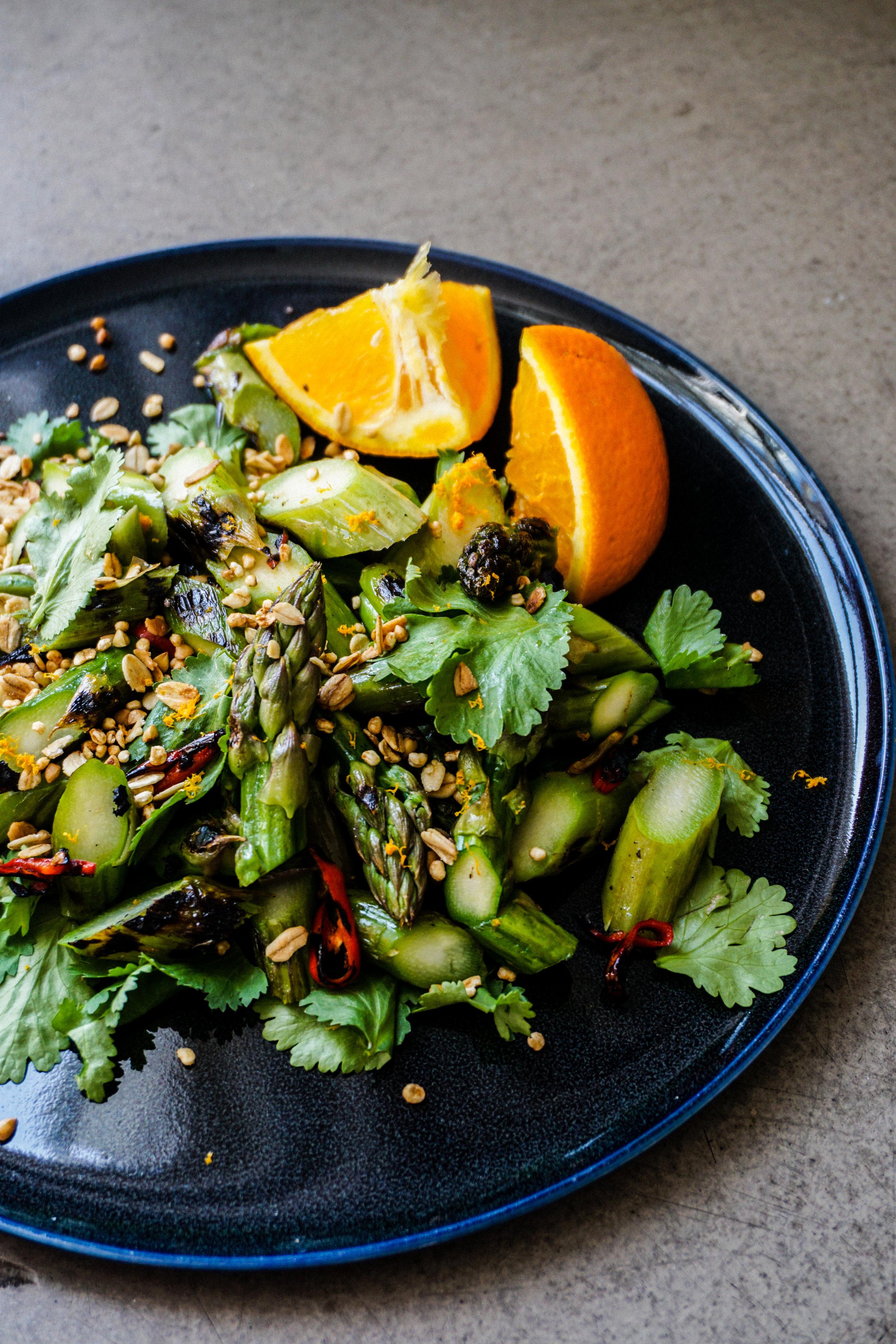 La Favo Crunchy Asparagus Salad