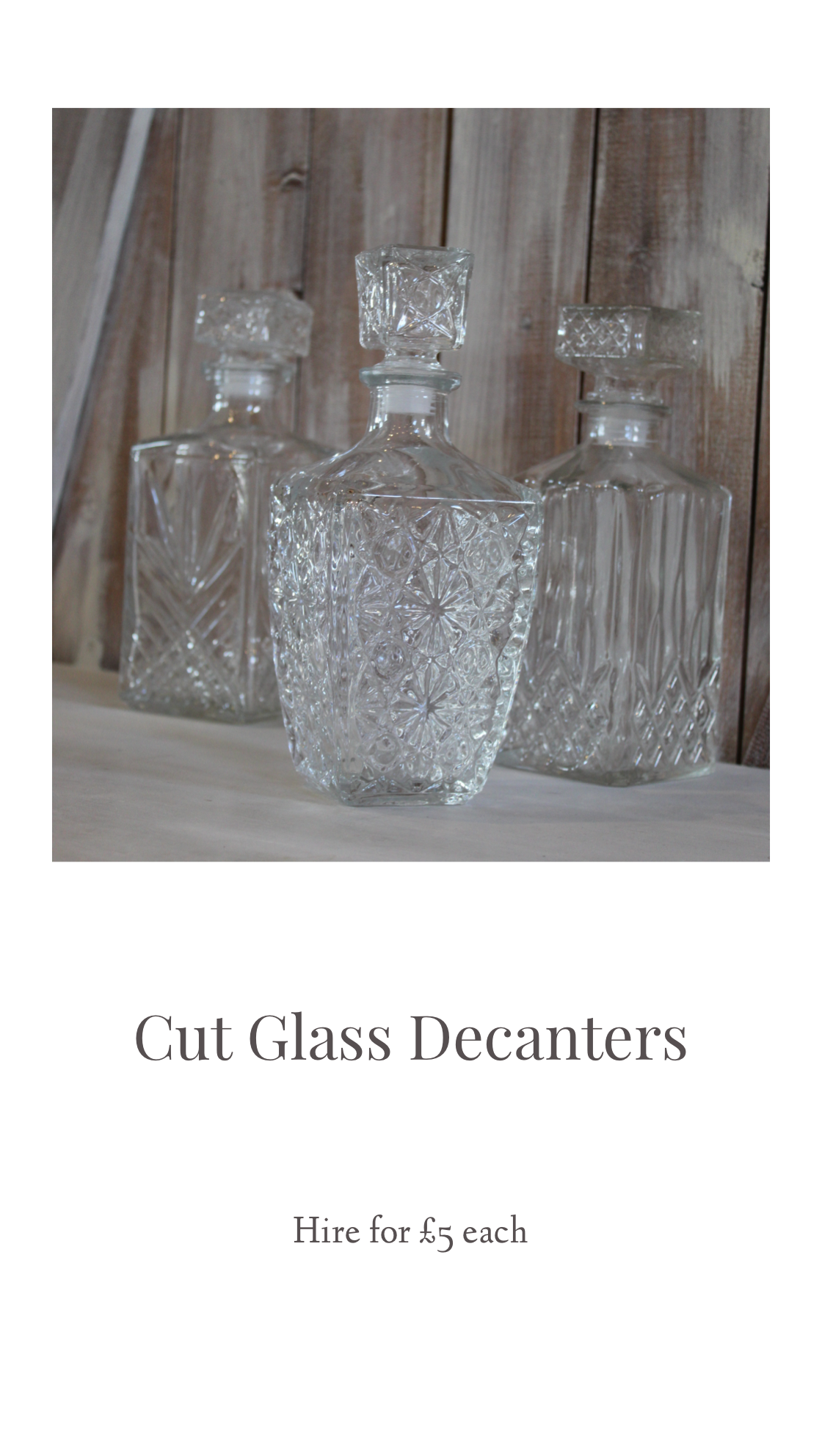 Sass Weddings, venue stylist derbyshire weddingglass decanters.png