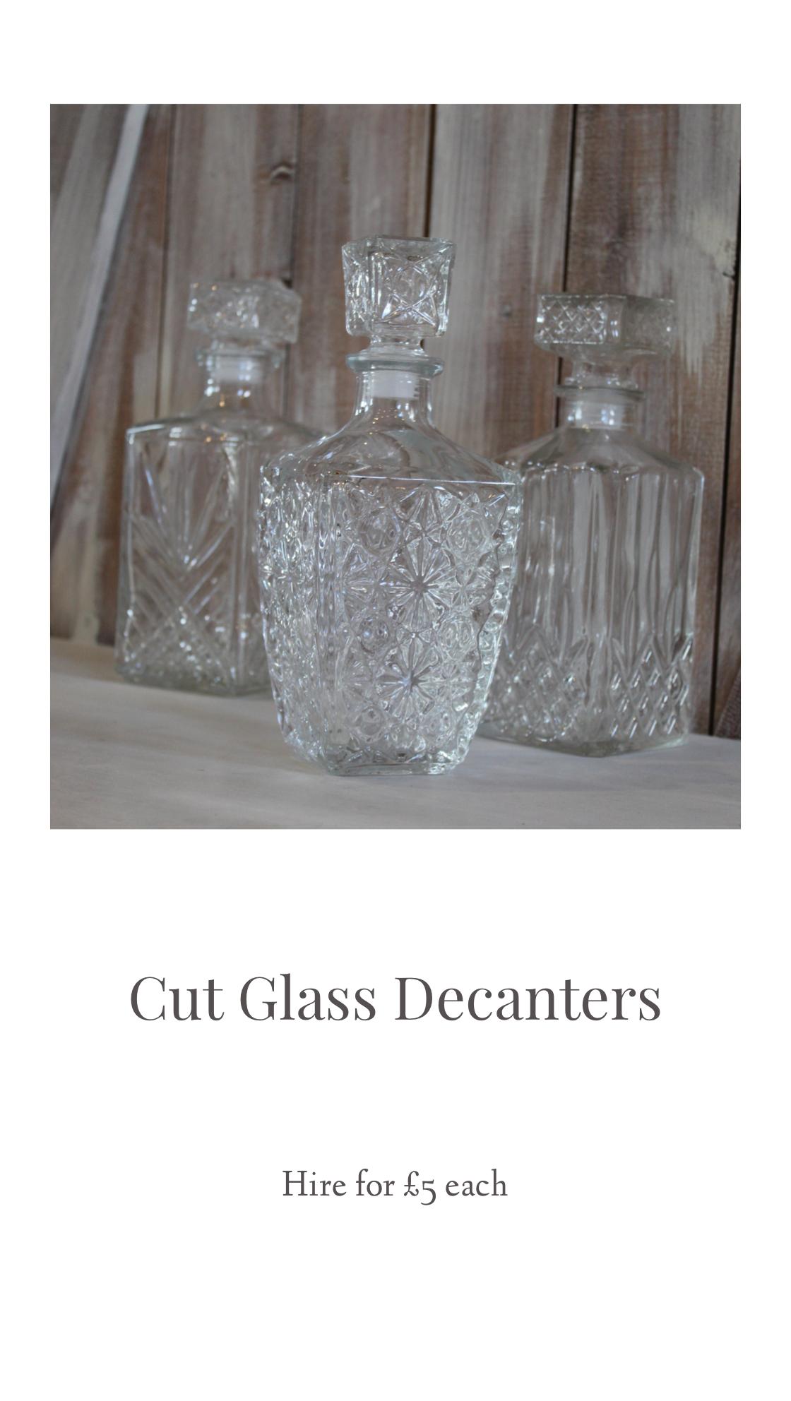 Sass Weddings, venue stylist derbyshire weddingglass decanters.png