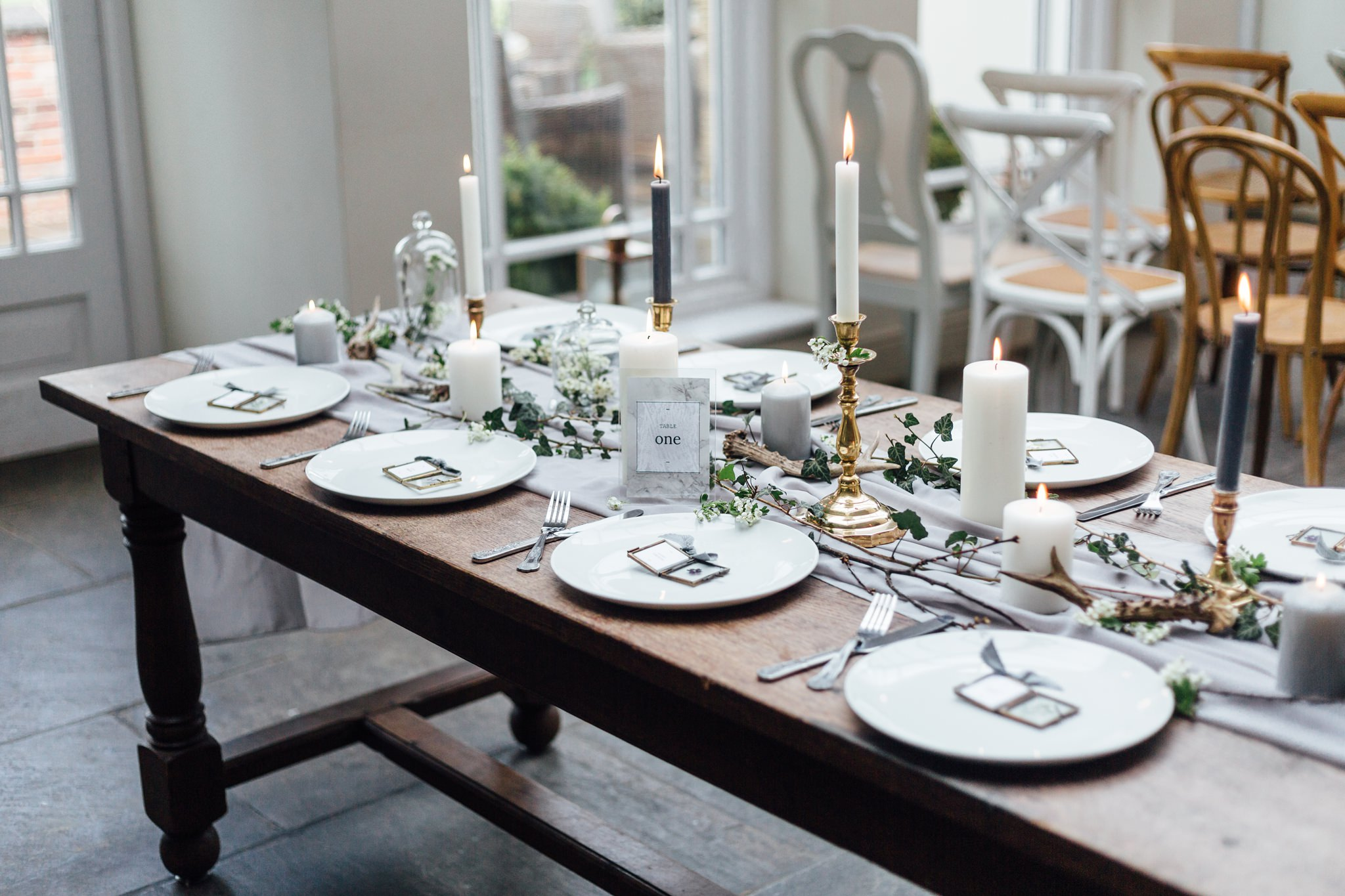 Woodland Romance - Modern Country Styling At Kedleston Country House