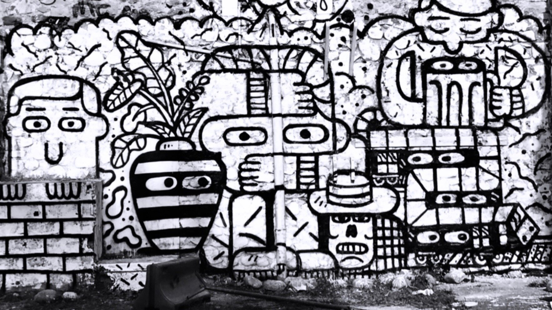Mural Vals les Bains