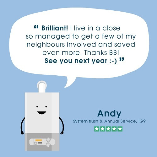 High five Andy ✋🏽 Use a plumber your neighbours recommend and save money too 🔥🔥🔥 . . . #home #homedecor #london #boiler #interior #interiors