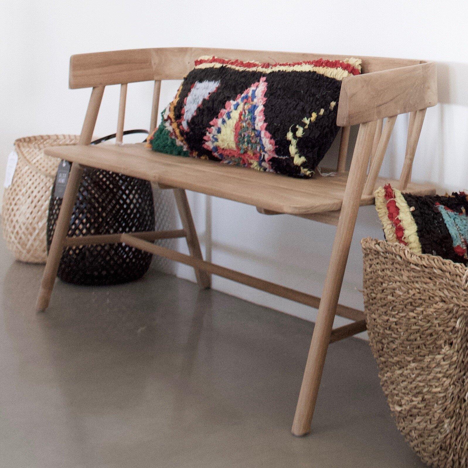 Bench £495, Cushion £120