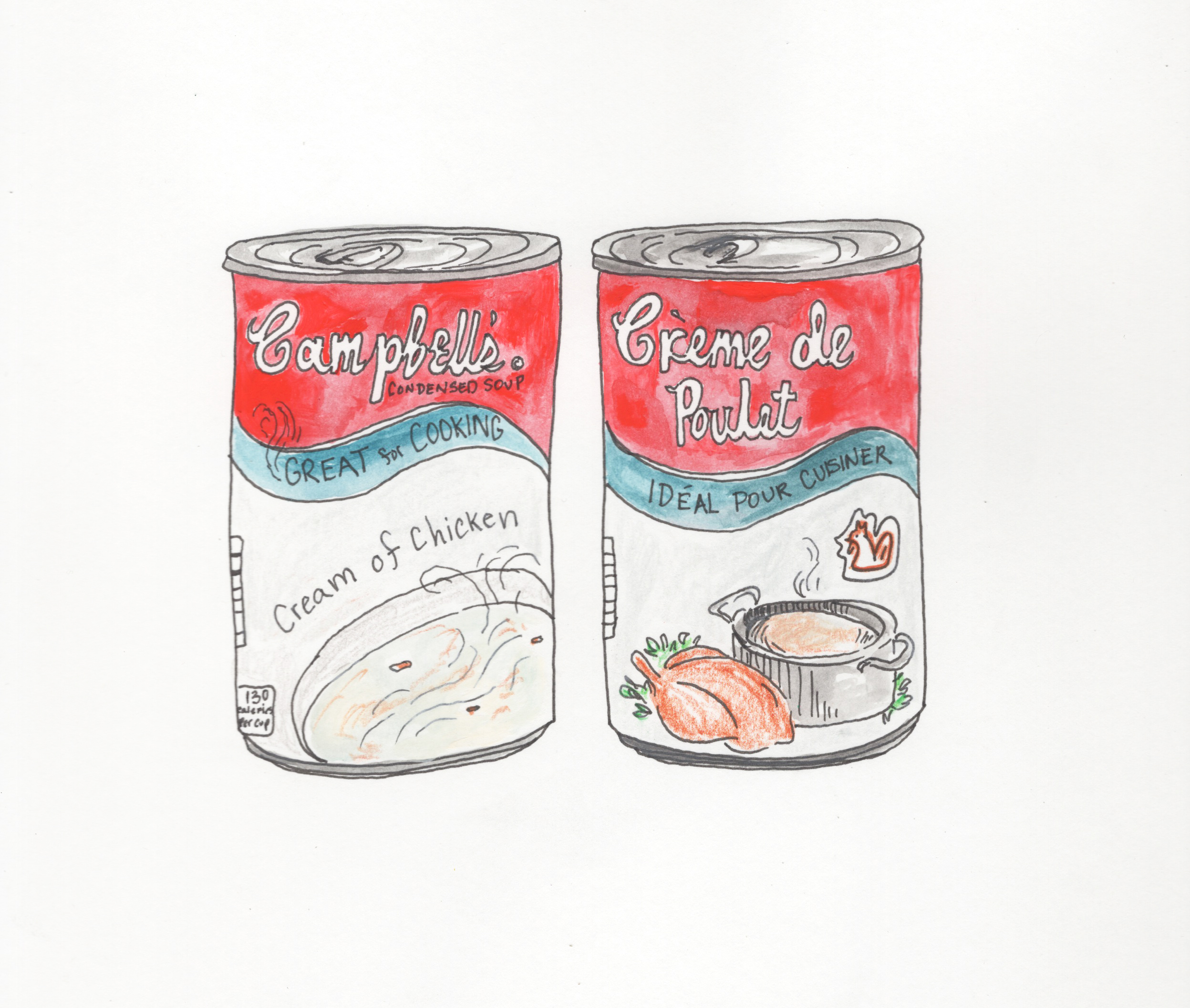 What is the French version of Campbell's Soup?