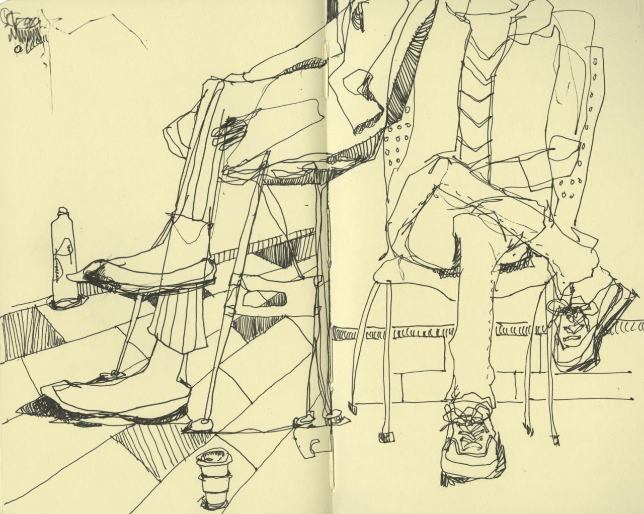 Carmen & Lydia's Feet,  2011
