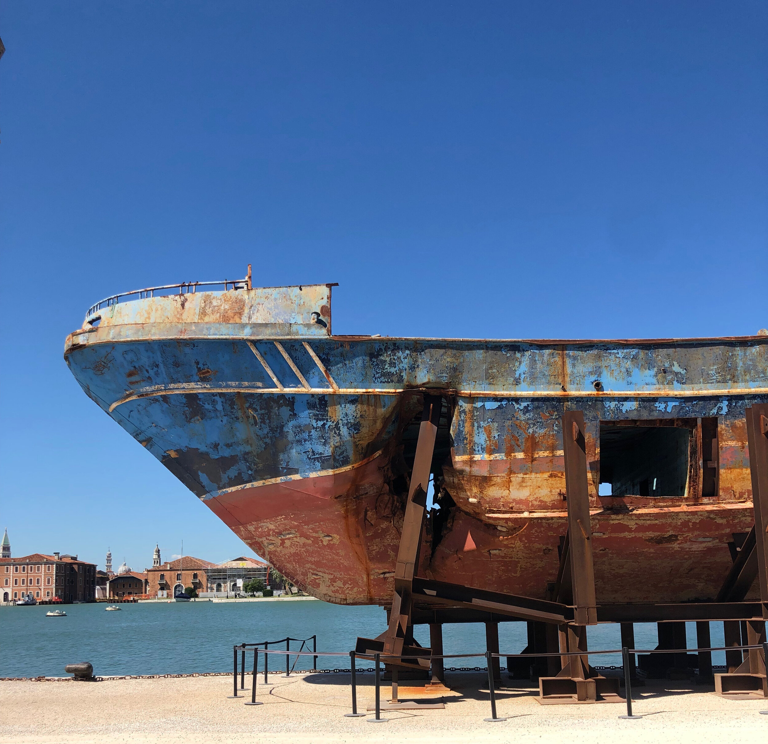 Christoph Büchel's Barca Nostra at the Venice Biennale