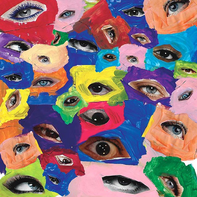 It's all about perception. - #eyeballs #collage #40layers #colours #creative #falloncreates #fun #creativefreedom #workworkwork