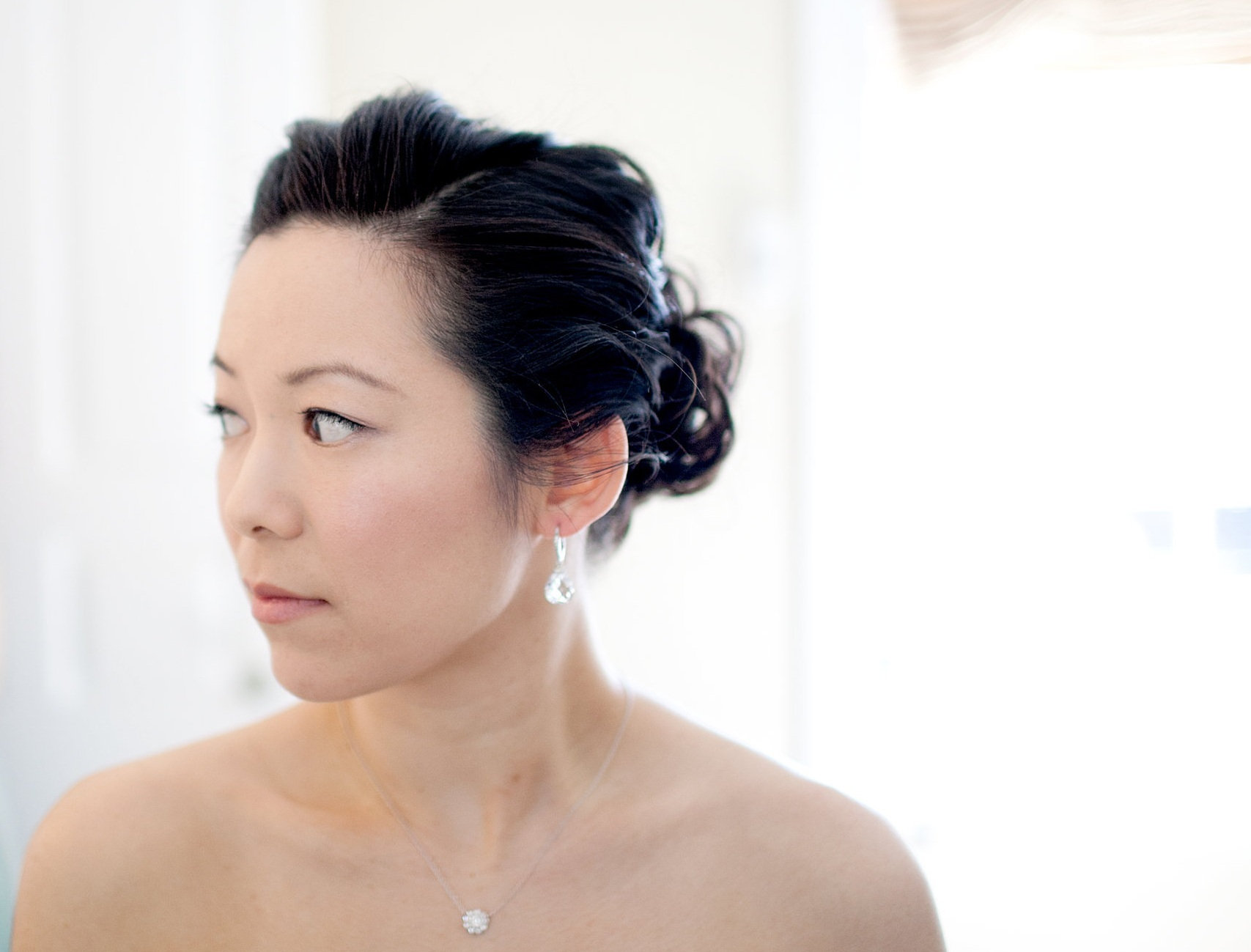 Less is more - Bridal hair and makeup is an important element of your perfect wedding day look, much like your wedding dress. Your hair and makeup should not compete with other details, it should be complimentary.