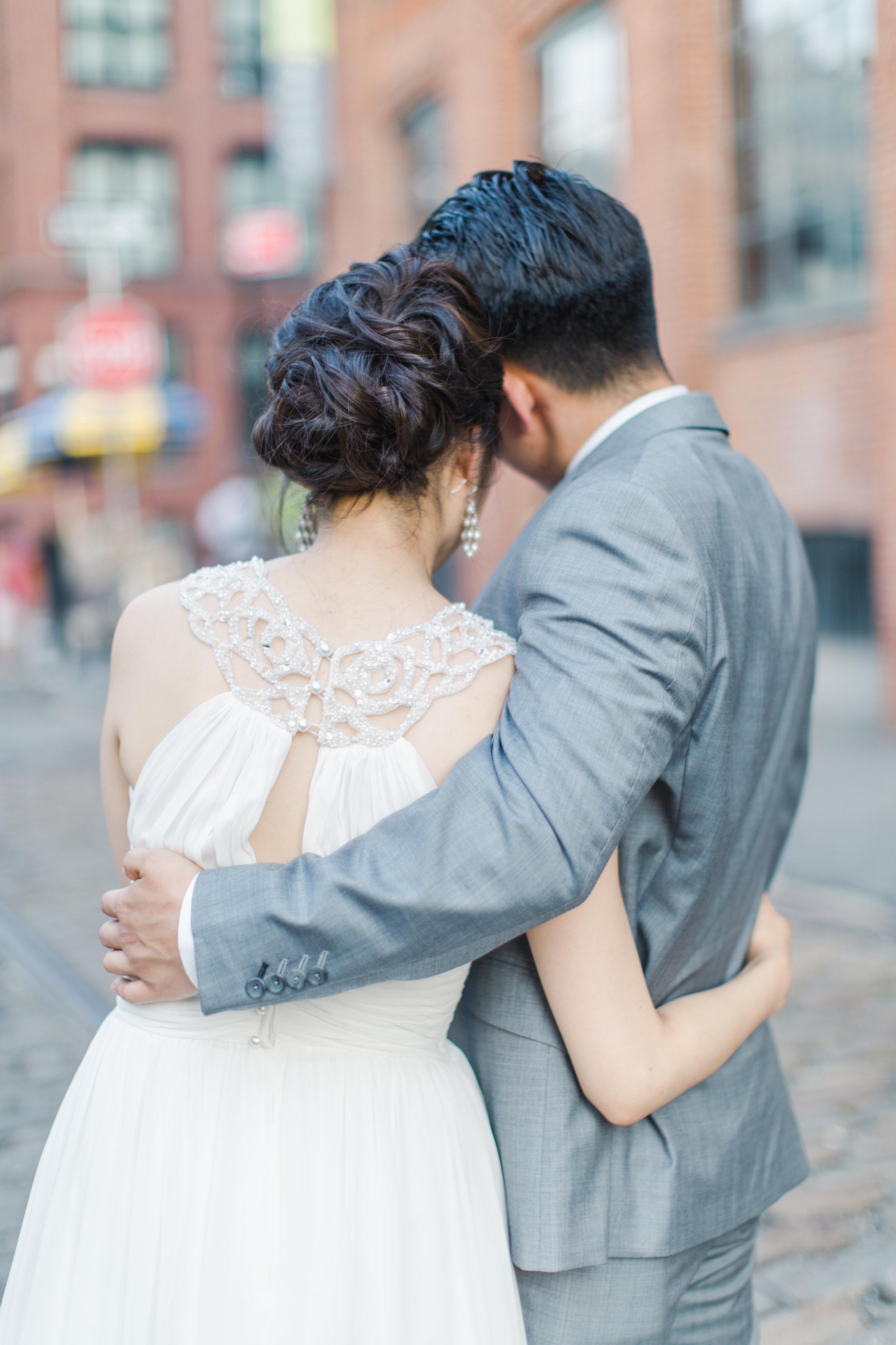 Bridal hairstylist New York City