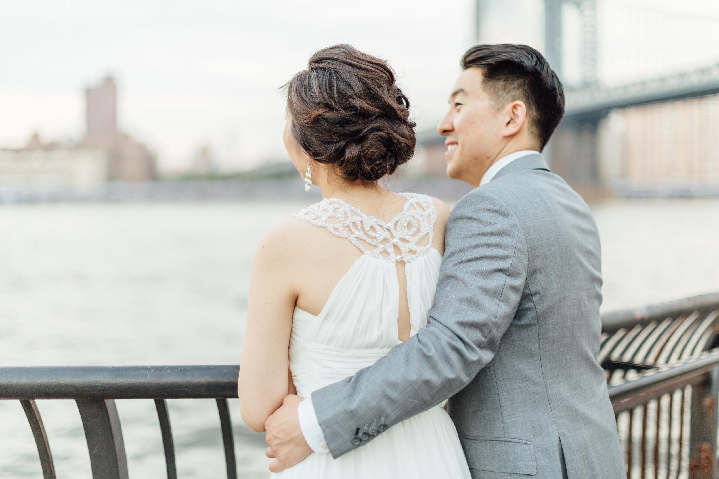 bridal updo for asian bride