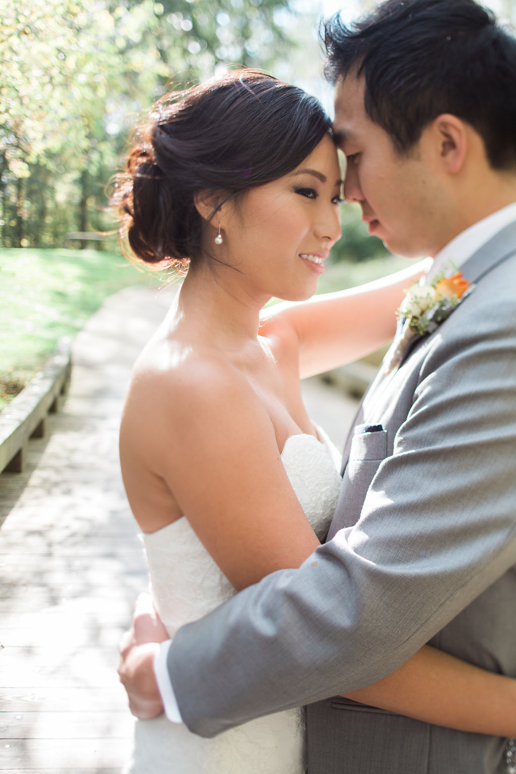 Korean Bridal hair and makeup