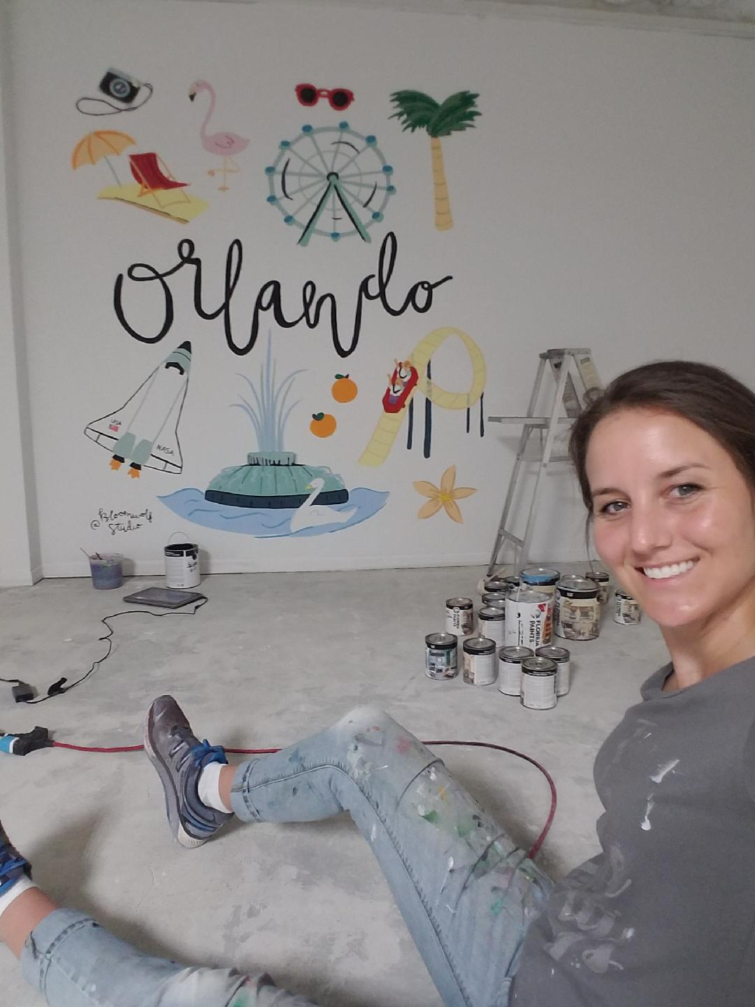 Jane W.     Jane Julia Studios     Speciality: Painting absolutely anything