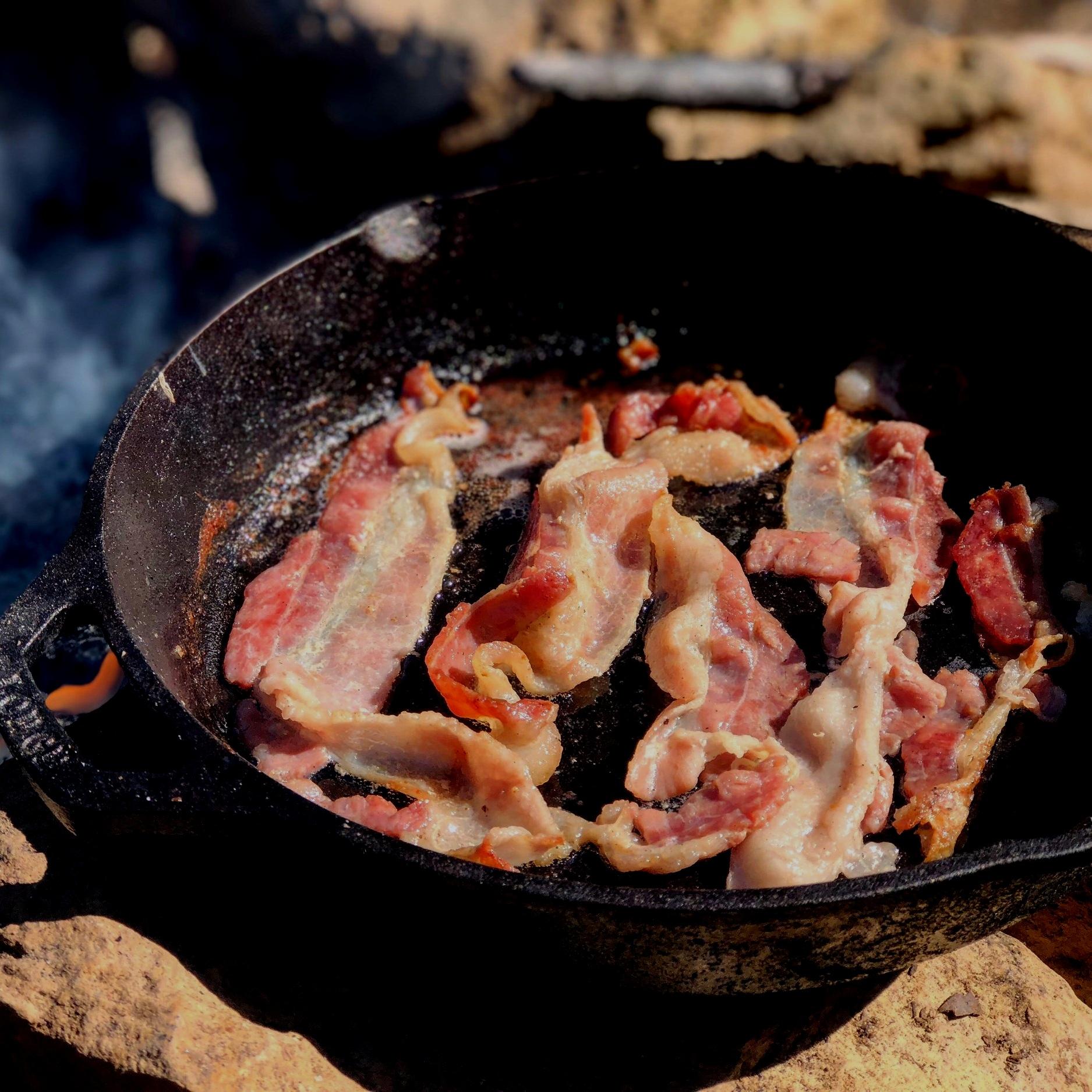 men of bacon -