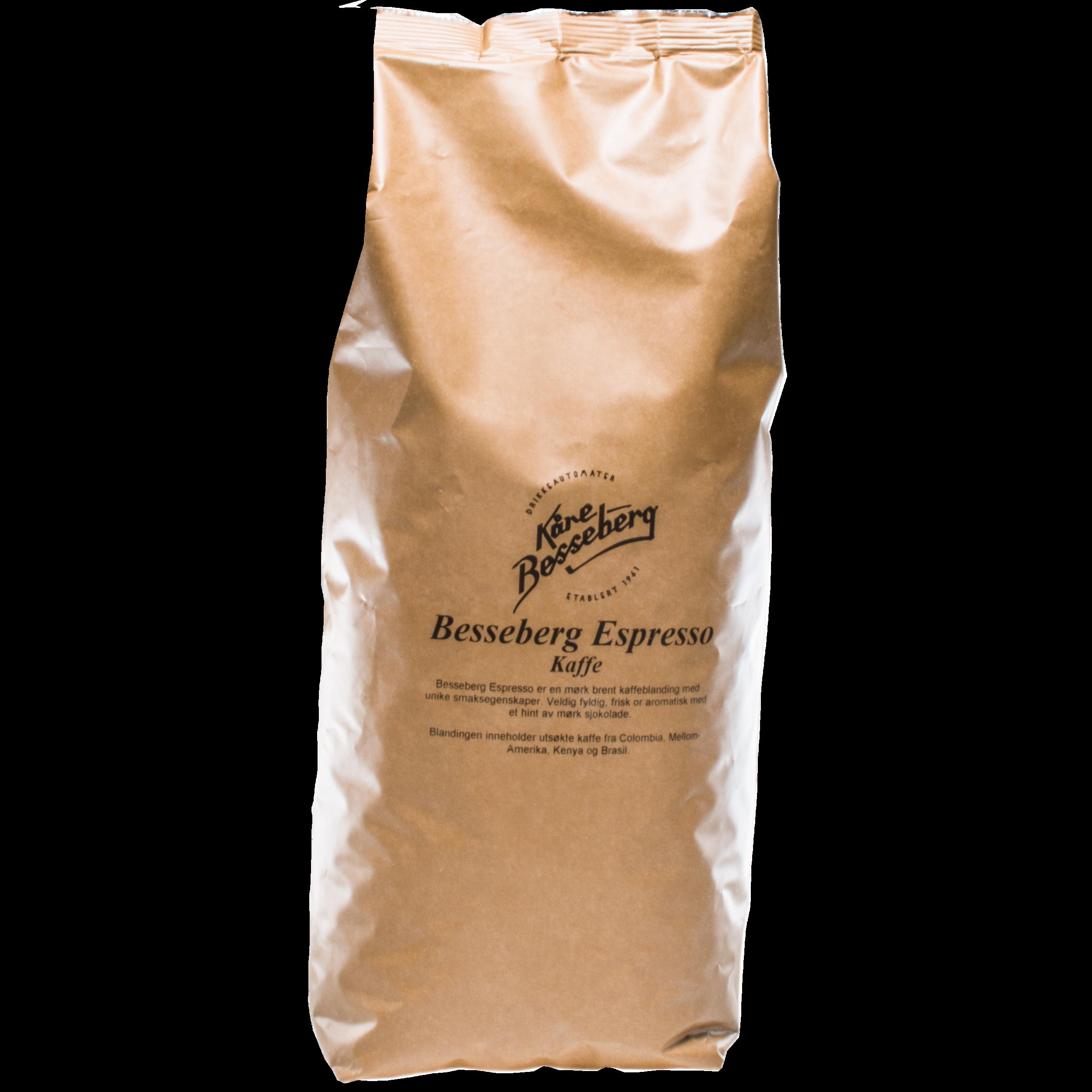 Besseberg espresso   En balansert og god espresso.
