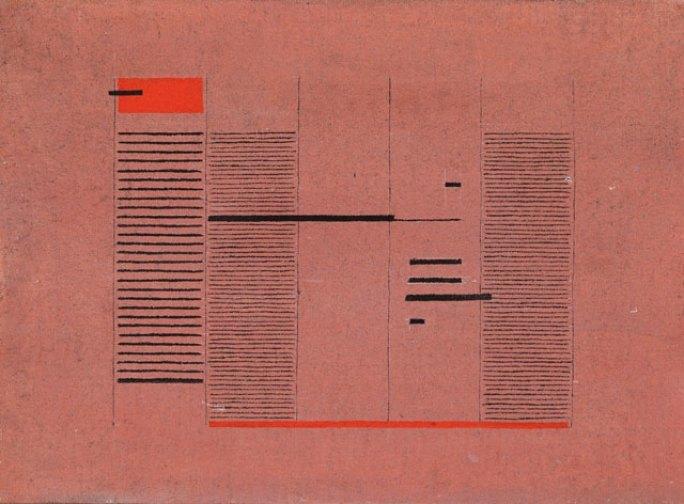 Acrilico No. 5, acrylic on canvas (1975) by Bice Lazzari ©Sotheby's