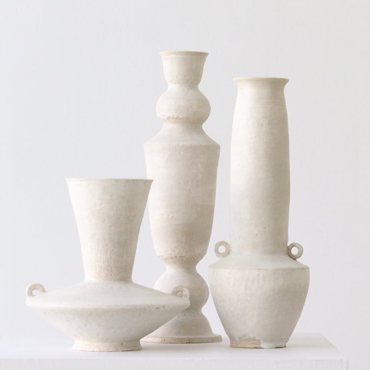 Ceramic vessels by Danny Kaplan