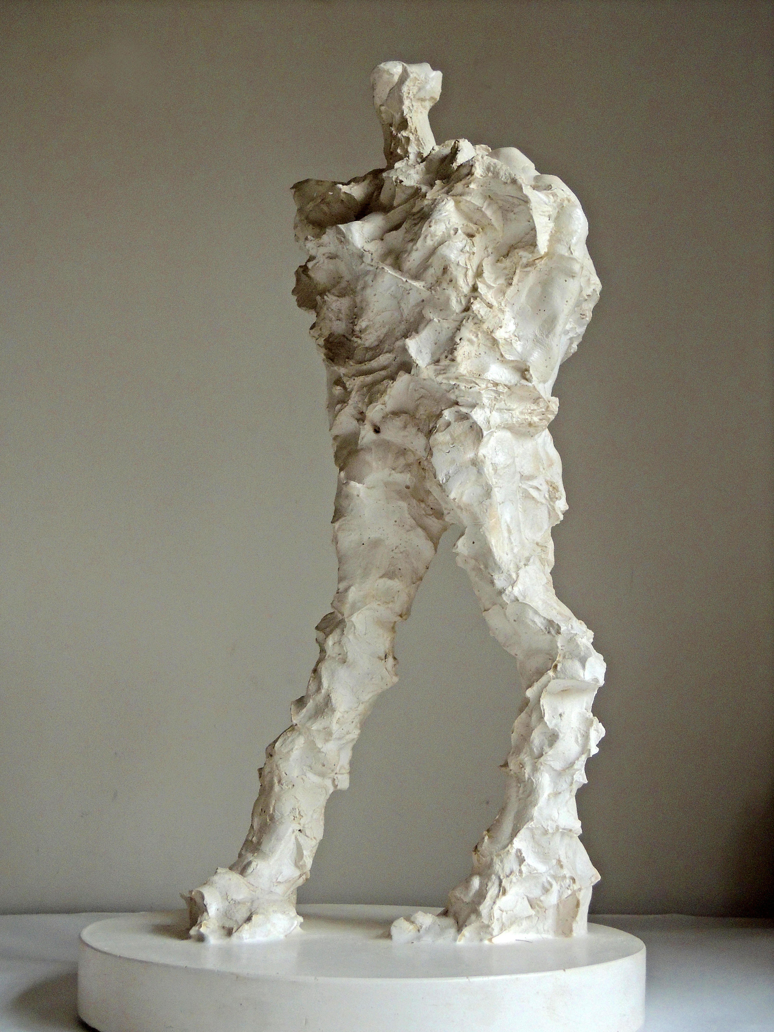 Plaster maquette, by Maurice Blik