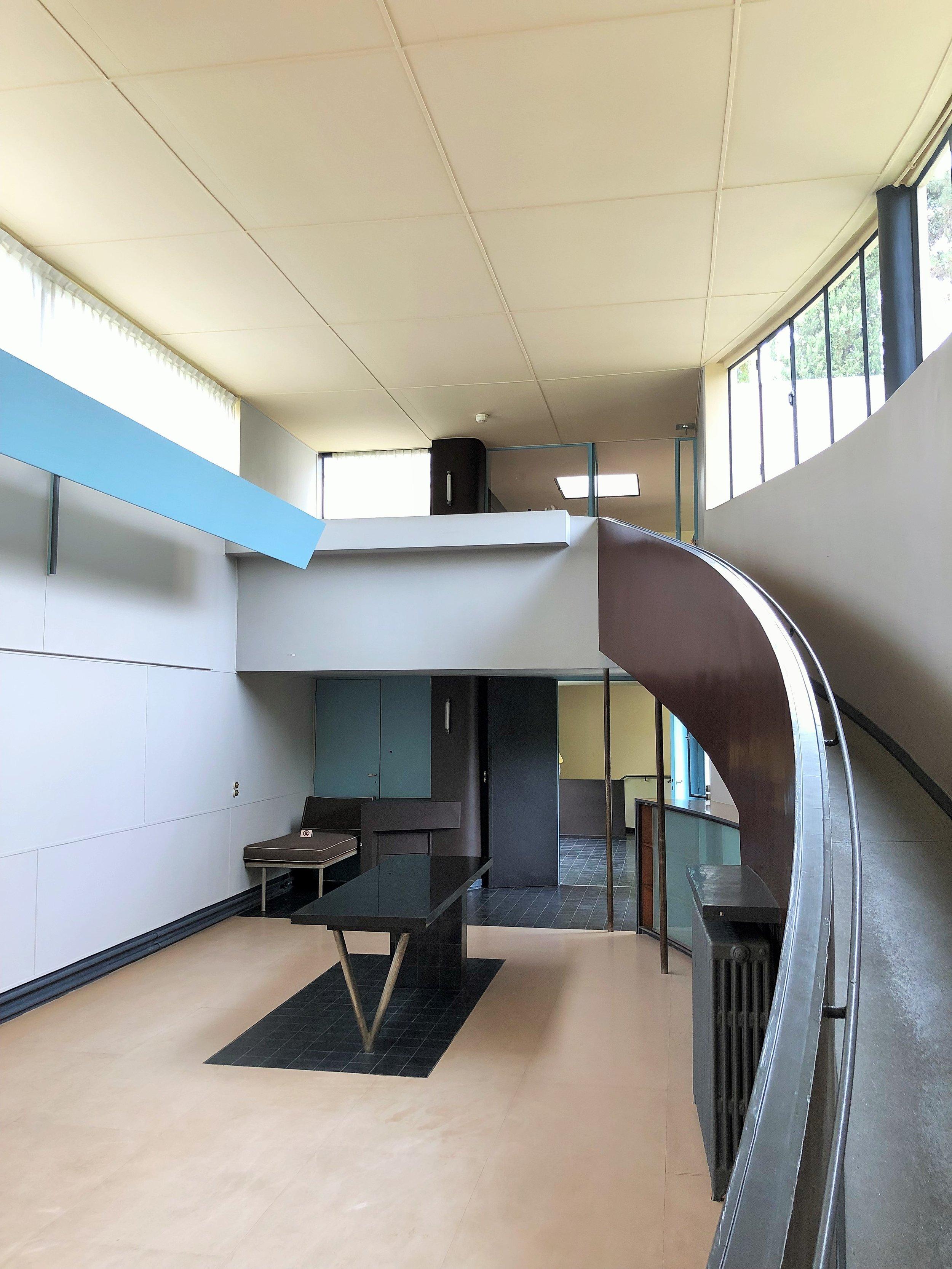 The gallery, Maison La Roche, by Le Corbusier Photograph ©The London List