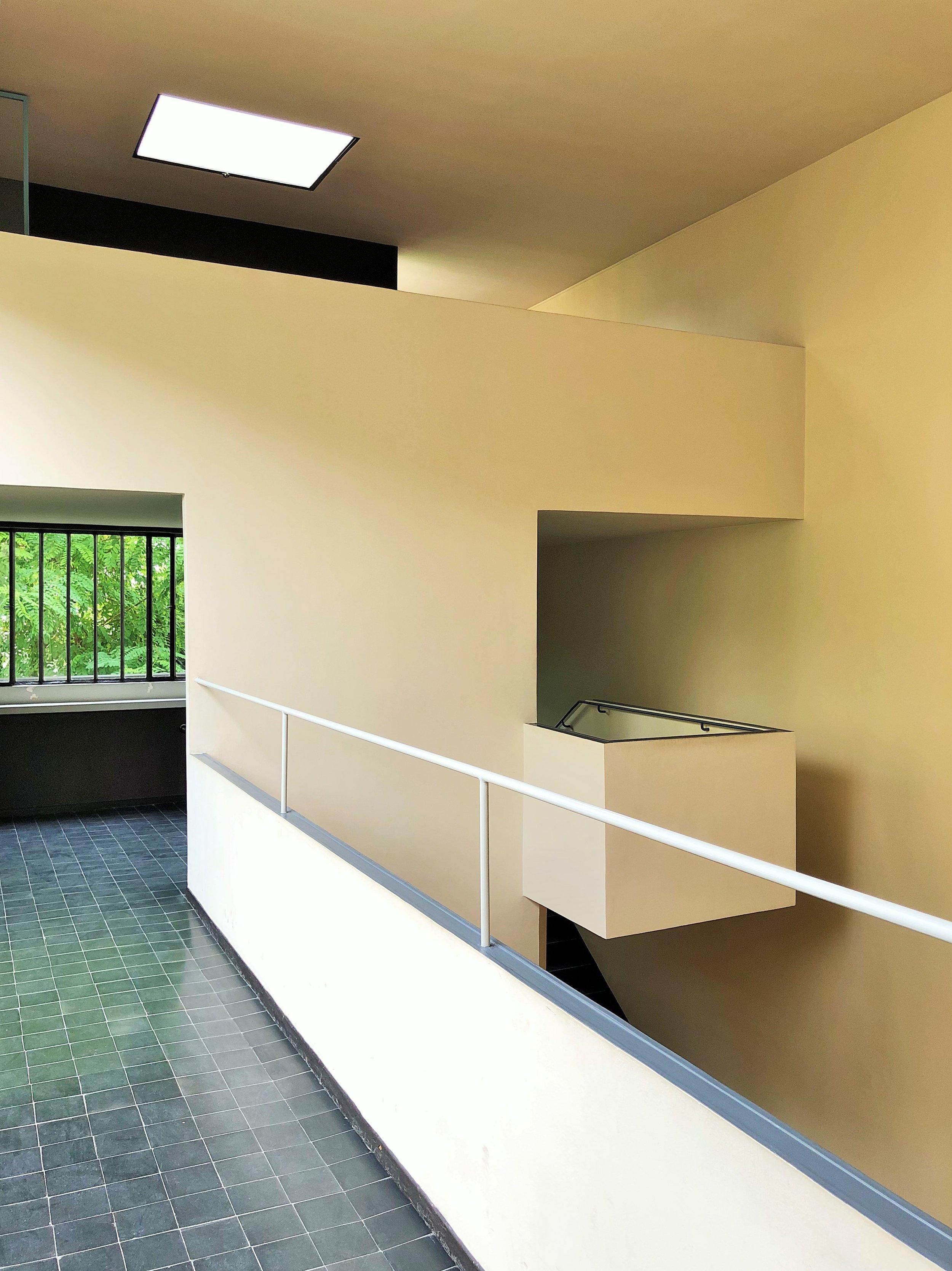 The hallway, Maison La Roche, by Le Corbusier Photograph ©The London List